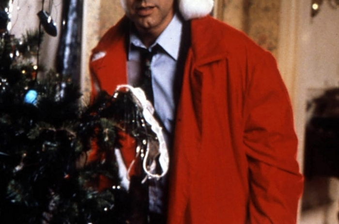 """Chevy Chase is a disillusioned family man determined to have a happy holiday in """"National Lampoon's Christmas Vacation."""""""
