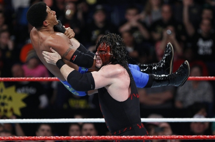 Kane and the WWE return to the First Niagara Center on March 1. (Harry Scull Jr./Buffalo News file photo)