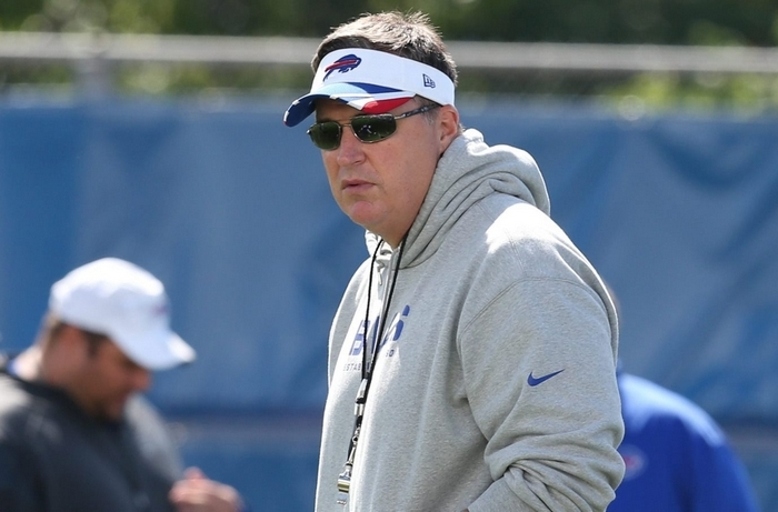 It could be a good thing for the Bills organization if head coach Doug Marrone gained more power within the organization. (James P. McCoy/ Buffalo News)