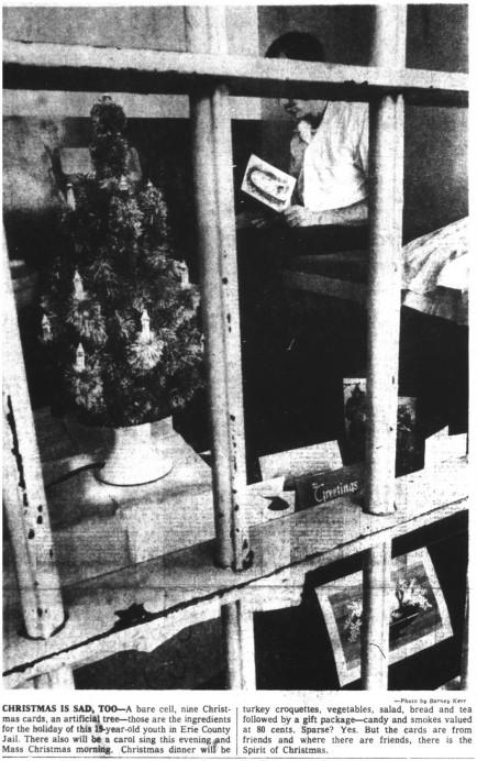 25 dec 1969 chritmas in jail