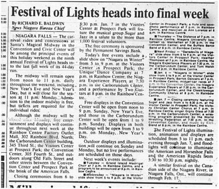 30 dec 1989 festival of lights