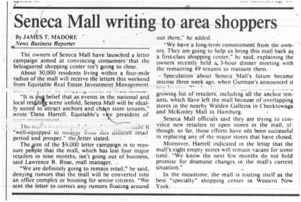 30 dec 1989 seneca mall