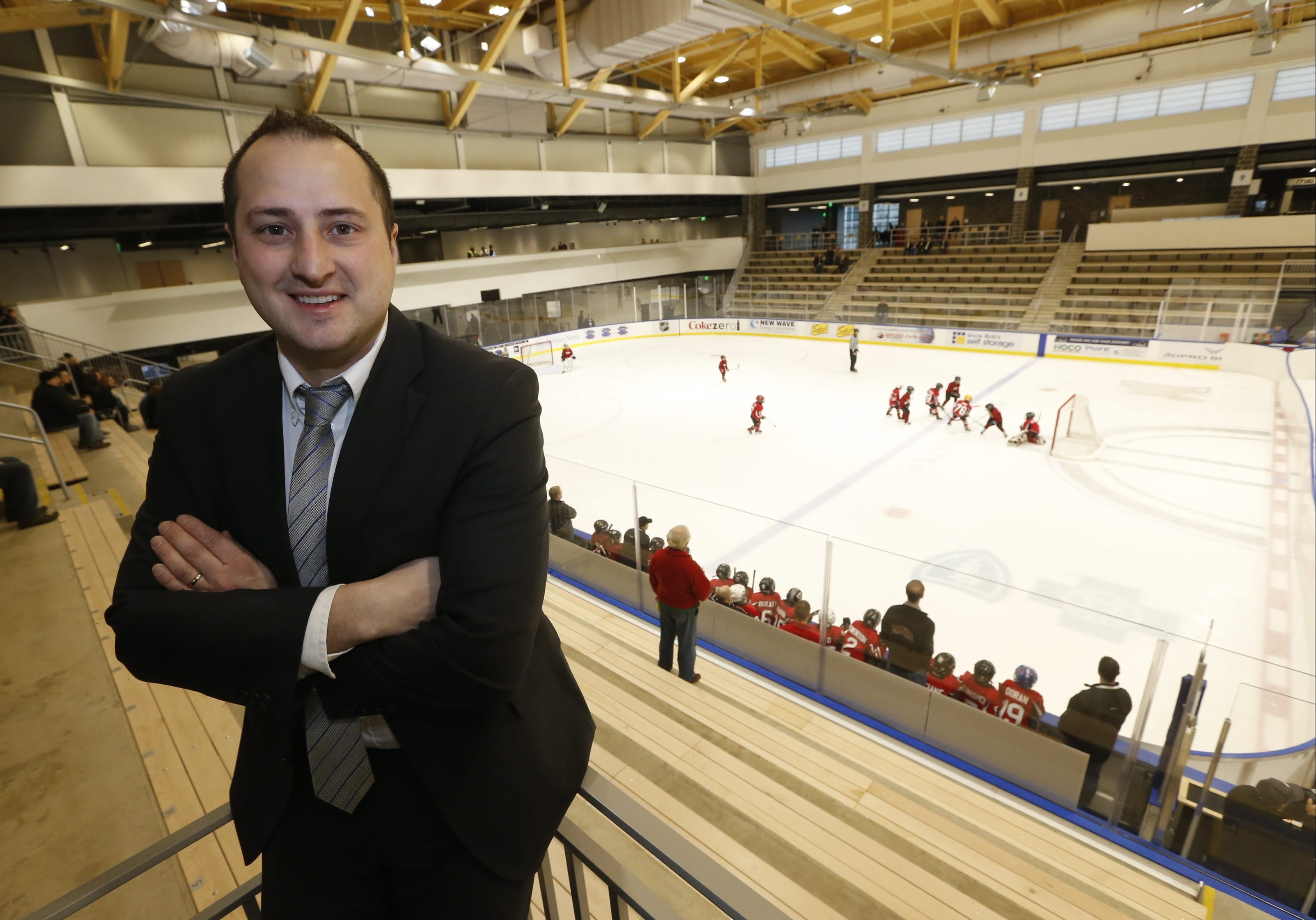 """""""Minnesota, Boston, Montreal, Toronto, those people have real passion for their local hockey culture. We want people to have that same passion here."""" – Nik Fattey, HarborCenter's vice president and director of hockey"""