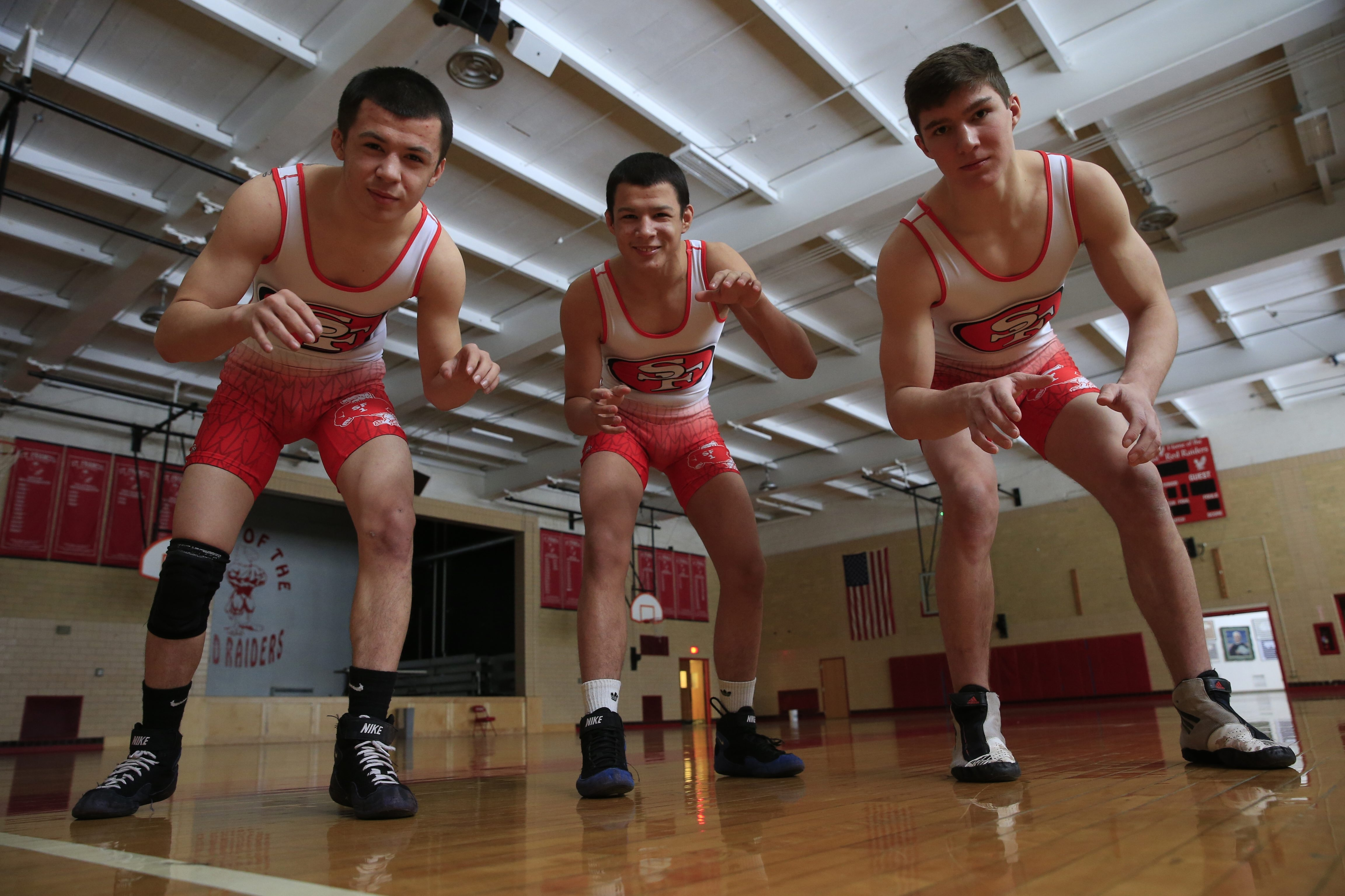 The Eastern States is the next stop for St. Francis' feared threesome of Tito and Hector Colom, and senior Jake Braunscheidel.