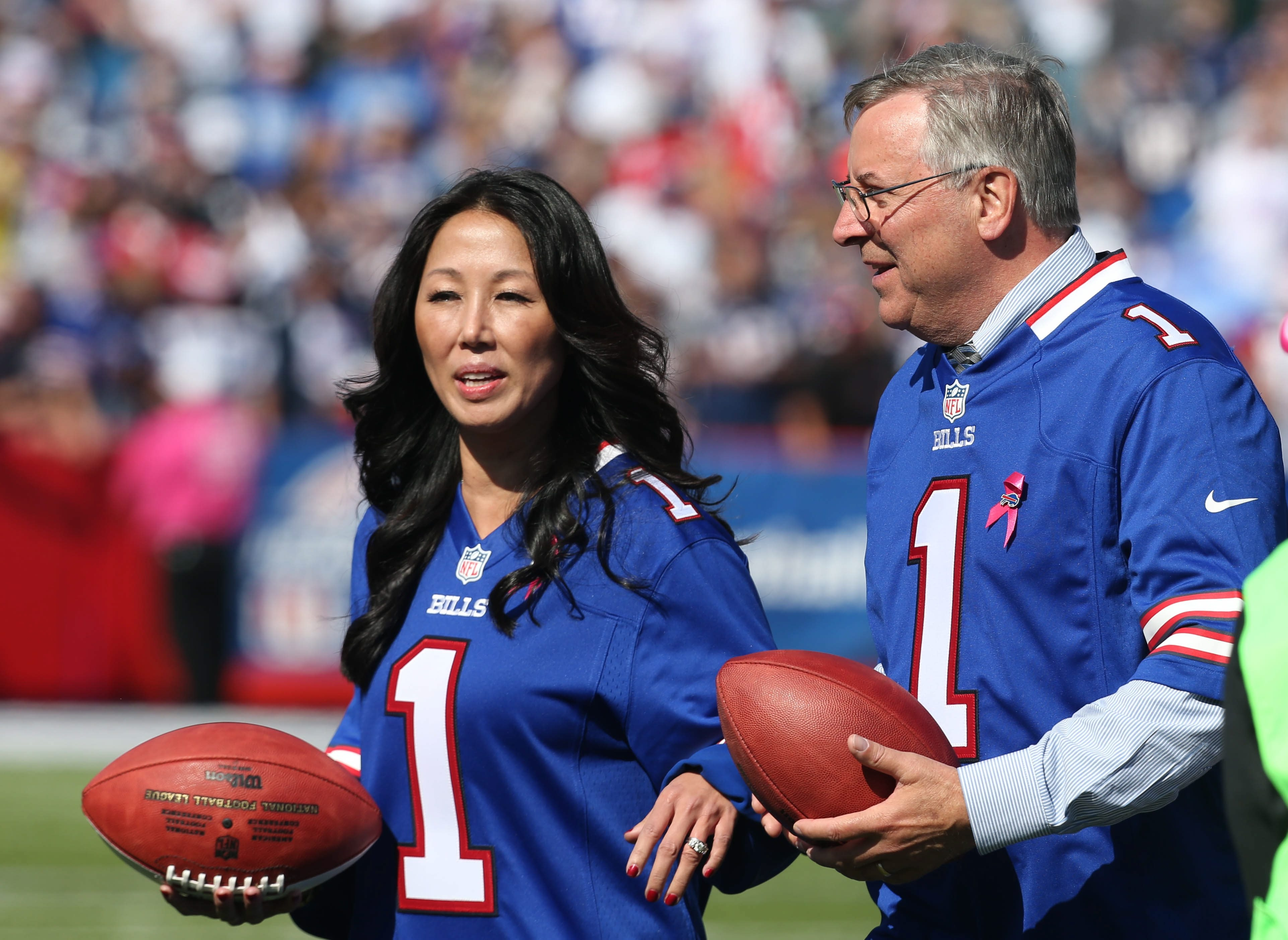 Kim and Terry Pegula preserved a key piece of Western New York's identity when they purchased the Buffalo Bills.
