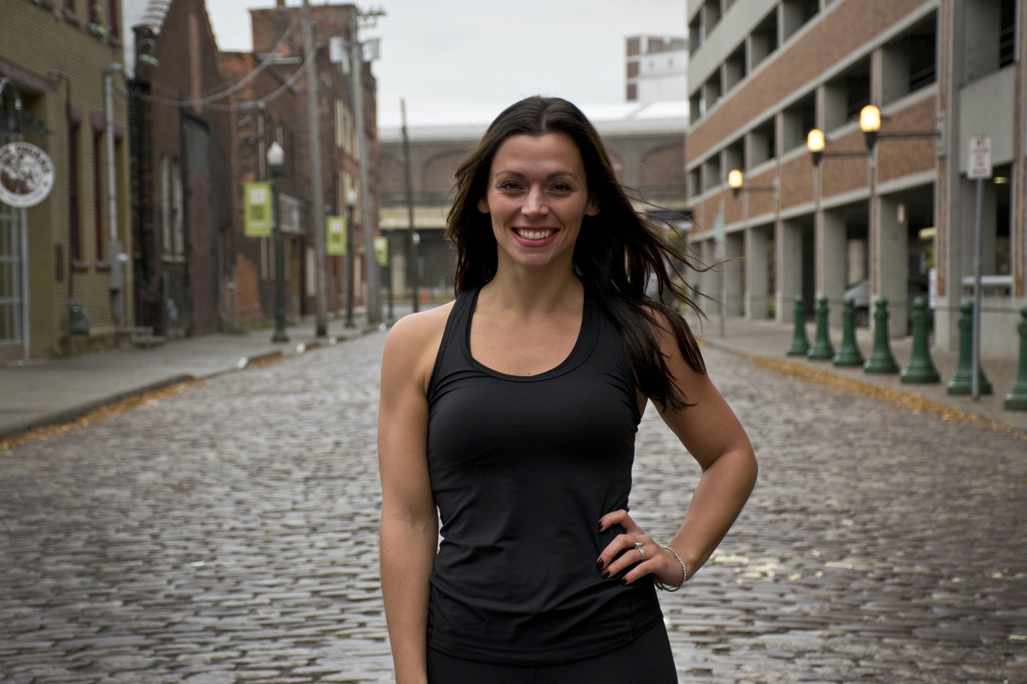 Rachel McCrone is one of three owners of the new Revolution Indoor Cycling.