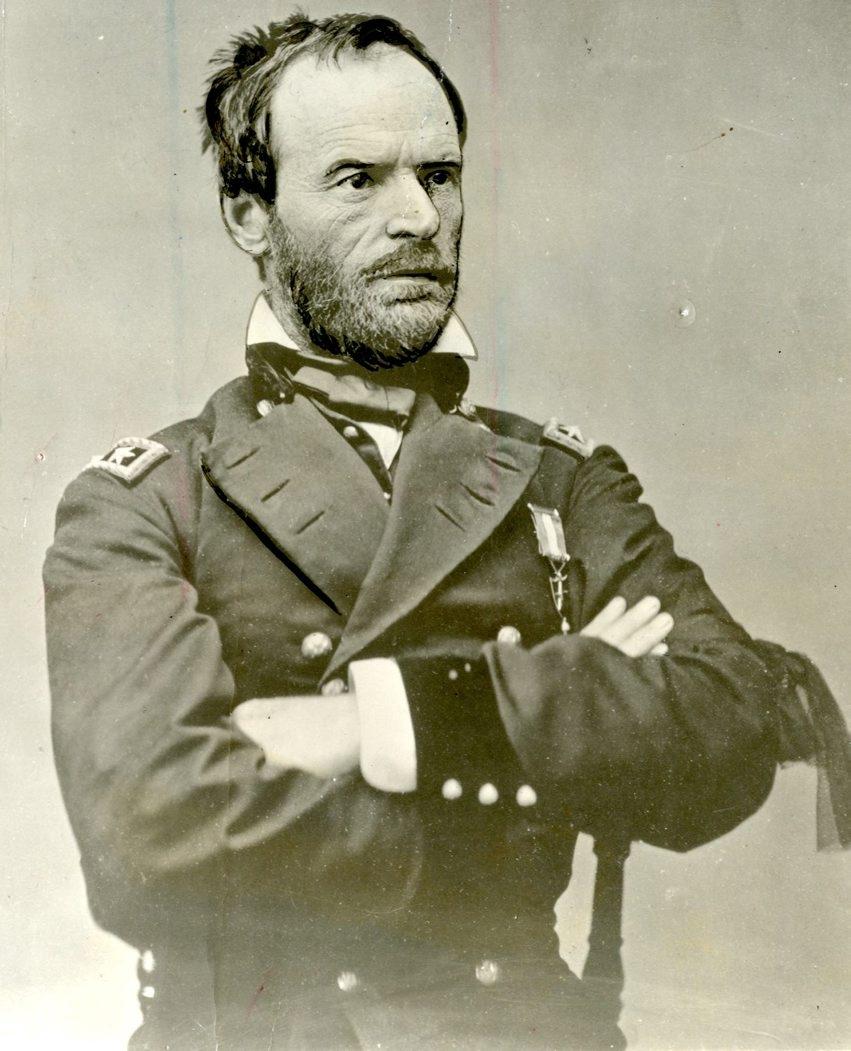 """Fierce Patriot"" rehabilitates the reputation of Union general William Tecumseh Sherman."