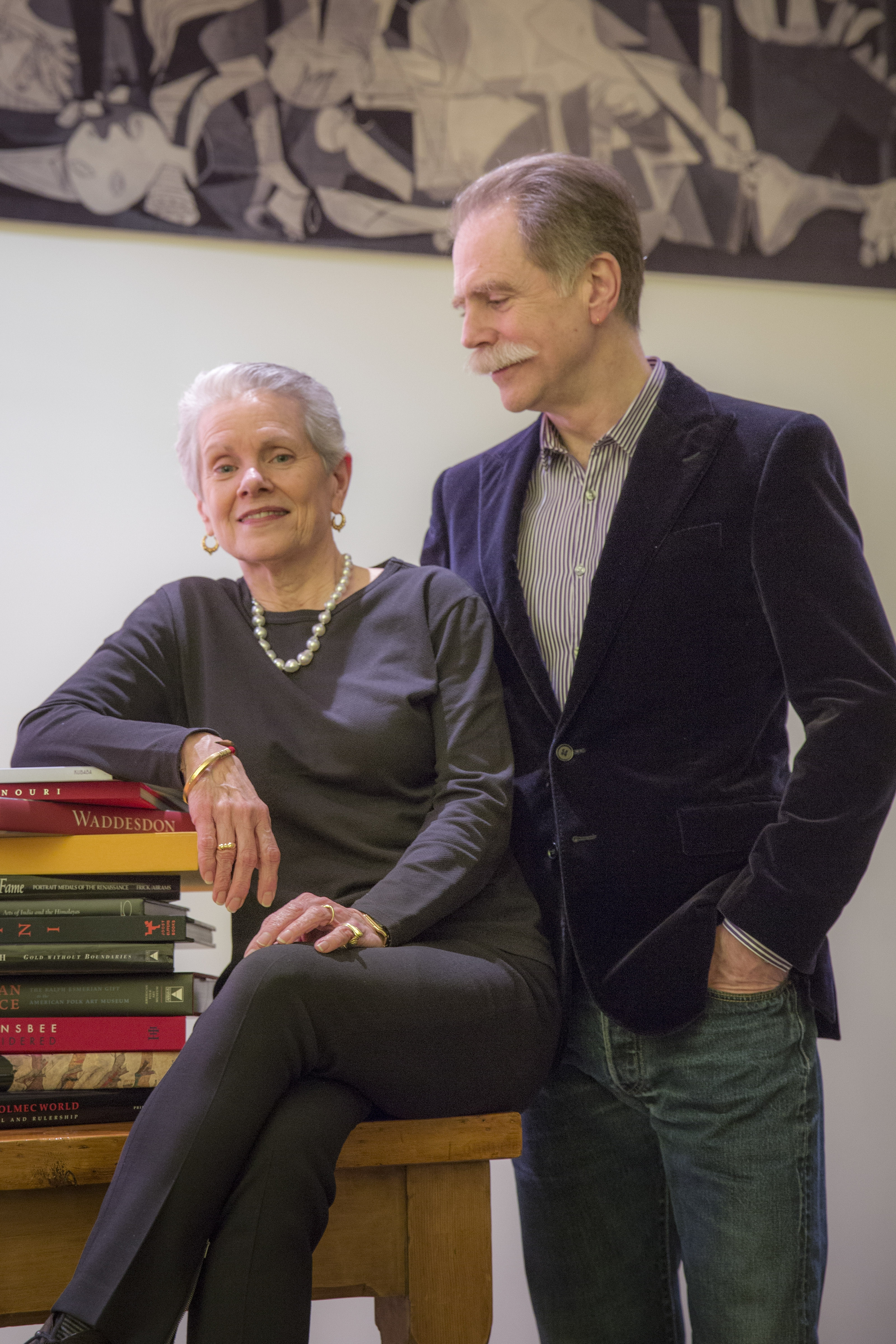 Dianne Dubler and her husband, the photographer John Taylor, whose wealthy clients pay them to publish books of personalized photography memorializing their homes, in New wYork, Dec. 11, 2014. The ultimate personal keepsakes cost $200,000 for an order of 200 books, providing a lasting visual record of a home. (Tony Cenicola/The)