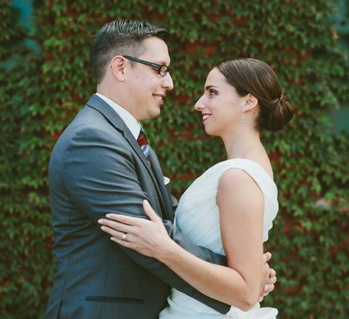 Christopher Caruana and Michele McDaniel are wed in Buffalo