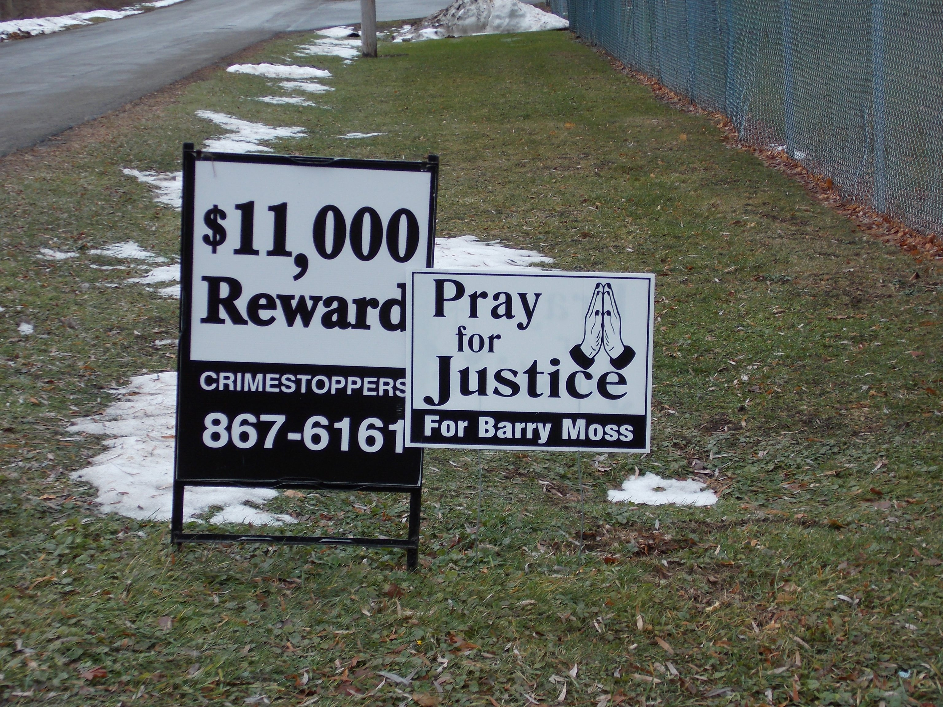 Barry Moss died in a hit-and-run accident a year ago Monday.