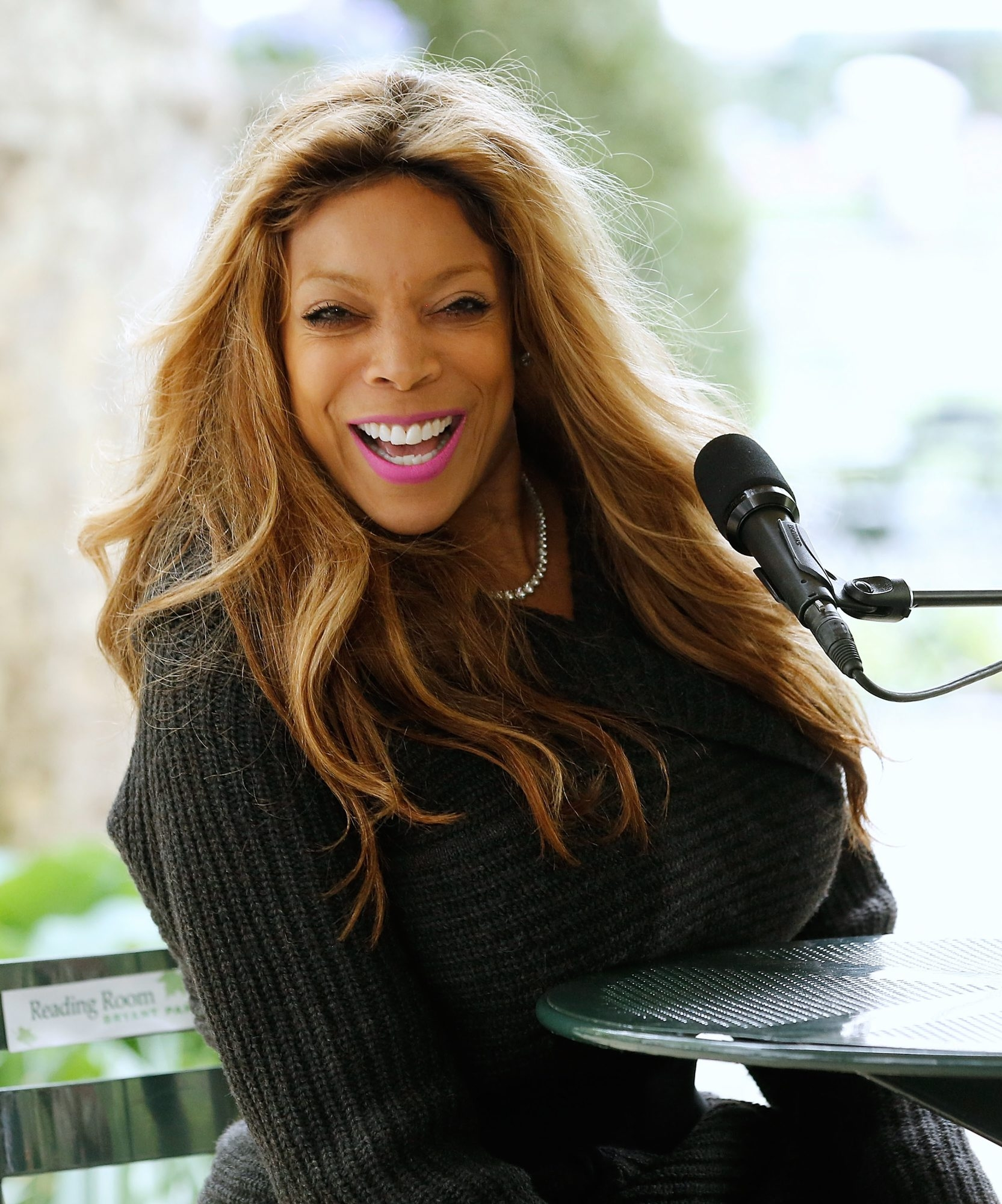 """""""The person that's on TV is the person you see in the grocery store,"""" says media personality/author Wendy Williams."""