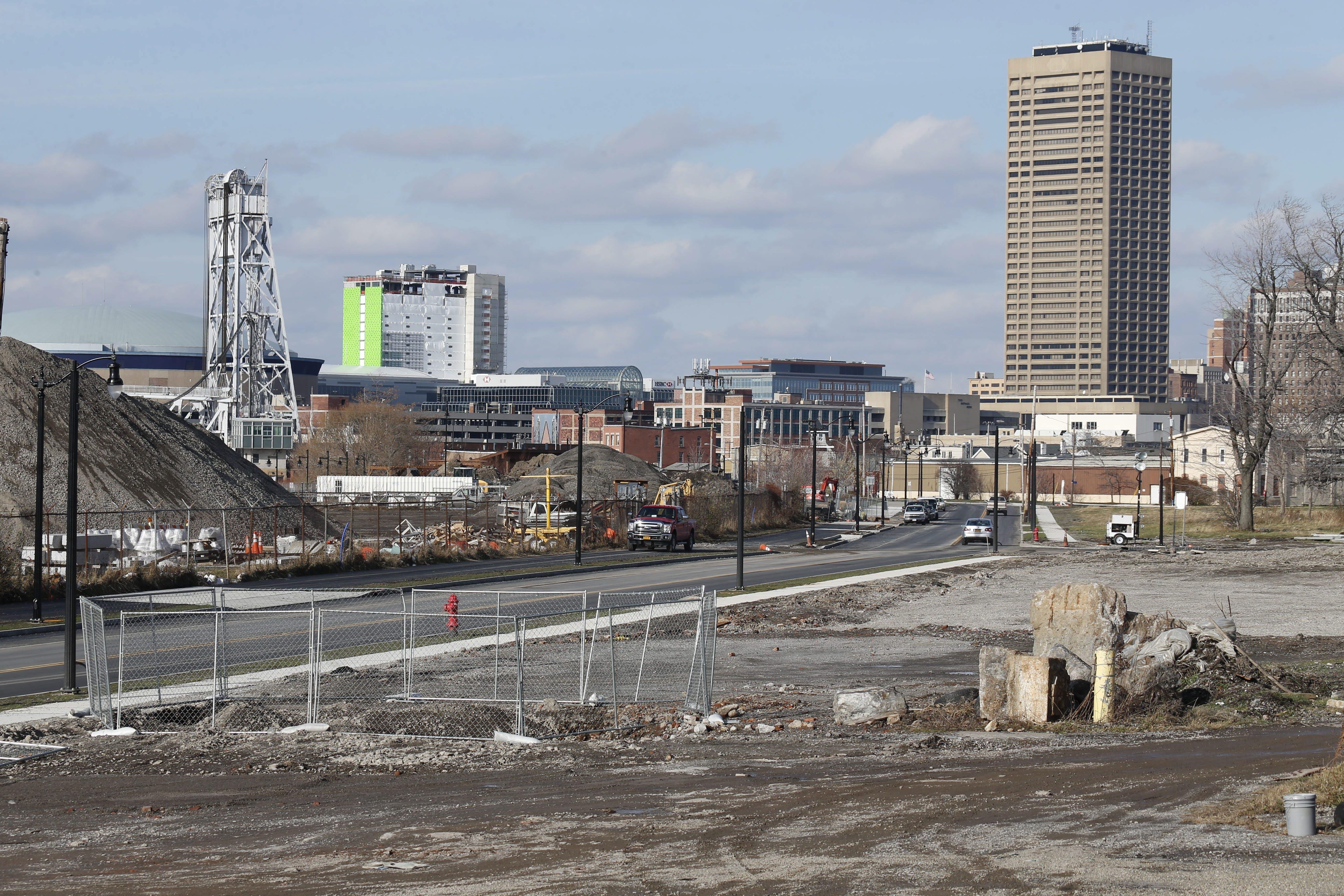 Proposed new development will bring Ohio Street back to life. (Derek Gee/Buffalo News)