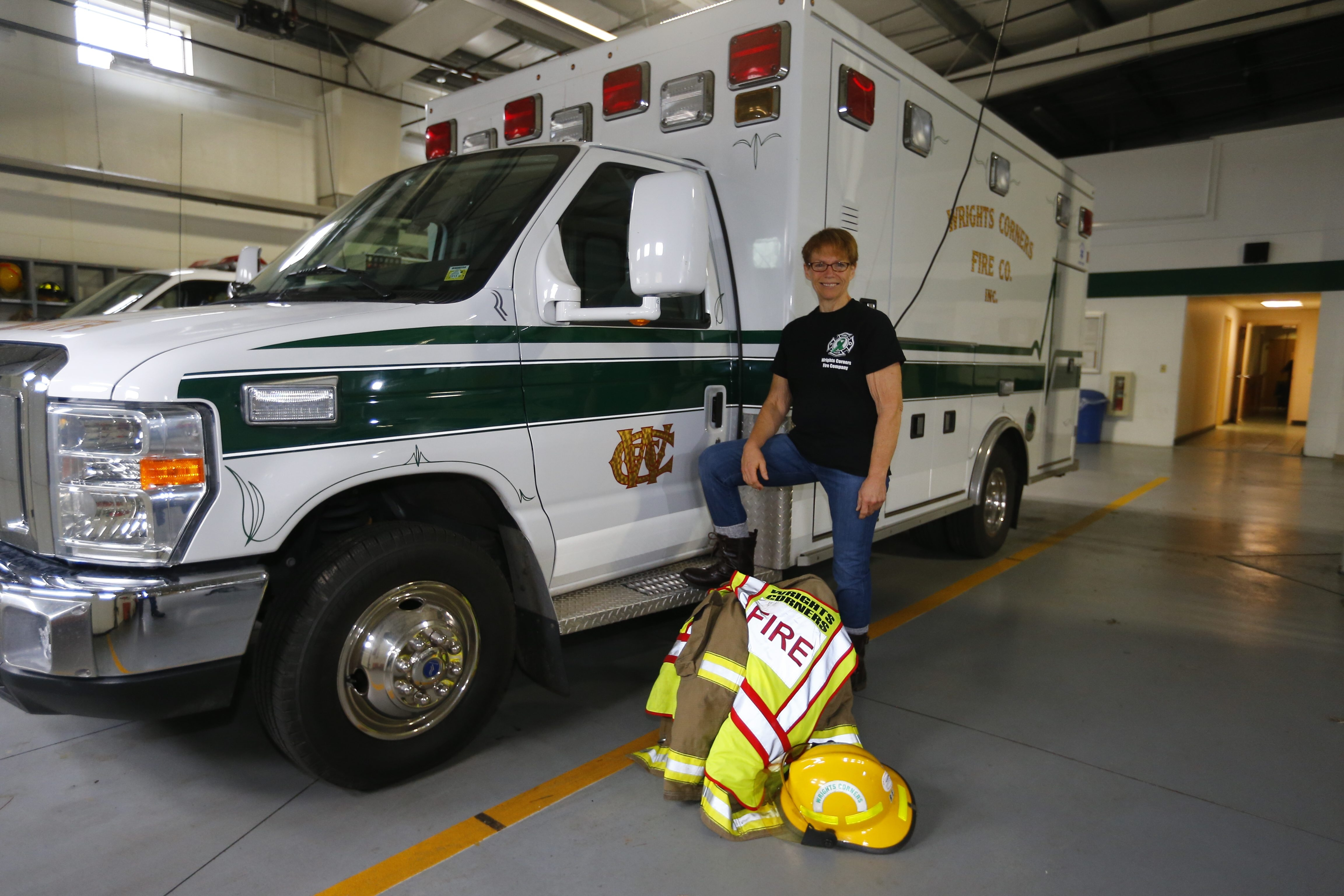 Bonita Reid lost about 180 pounds and became a volunteer firefighter at  Wright Corners Fire Hall. Reid struggled with her weight for more than 30 years, before finding a program that worked for her.