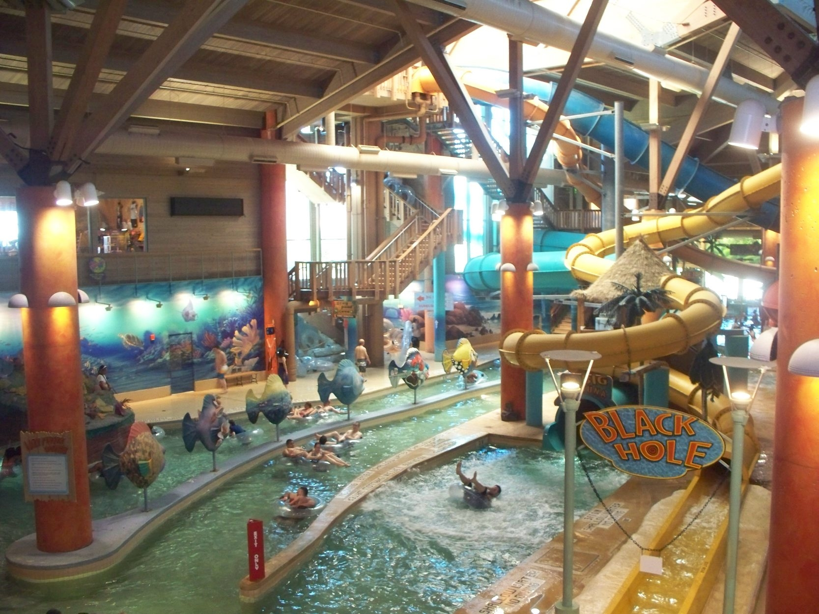 Splash Lagoon is Erie., Pa.'s top year-round tourist attraction.