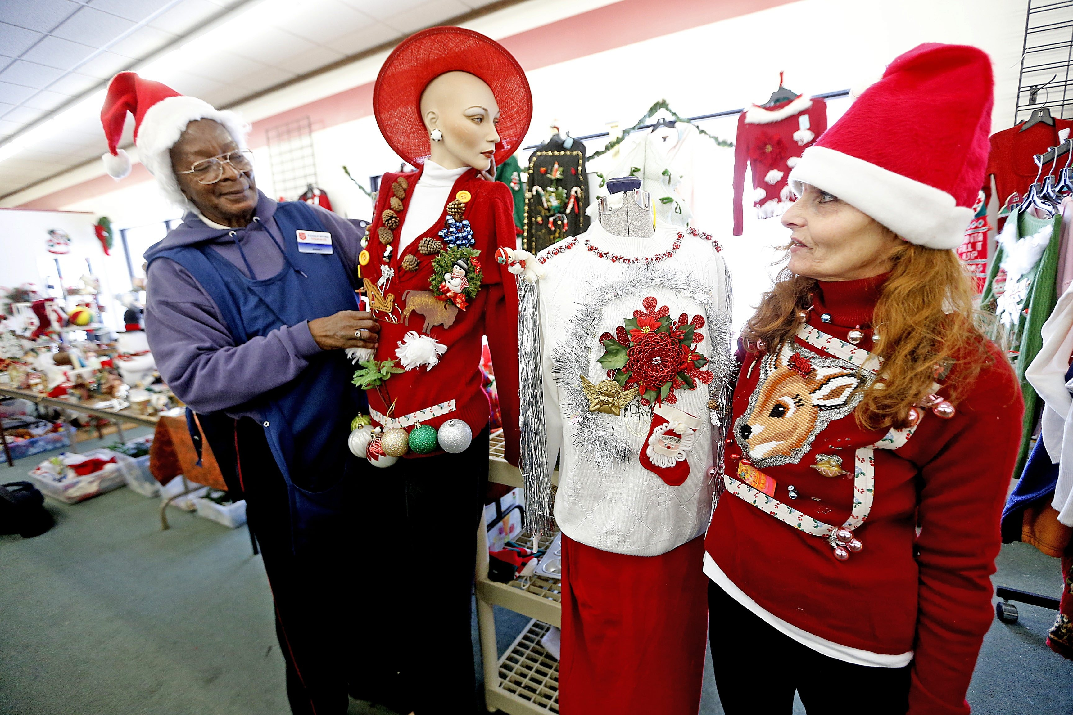 beec3d1f65d83 Ugly Christmas sweaters have become big business – The Buffalo News