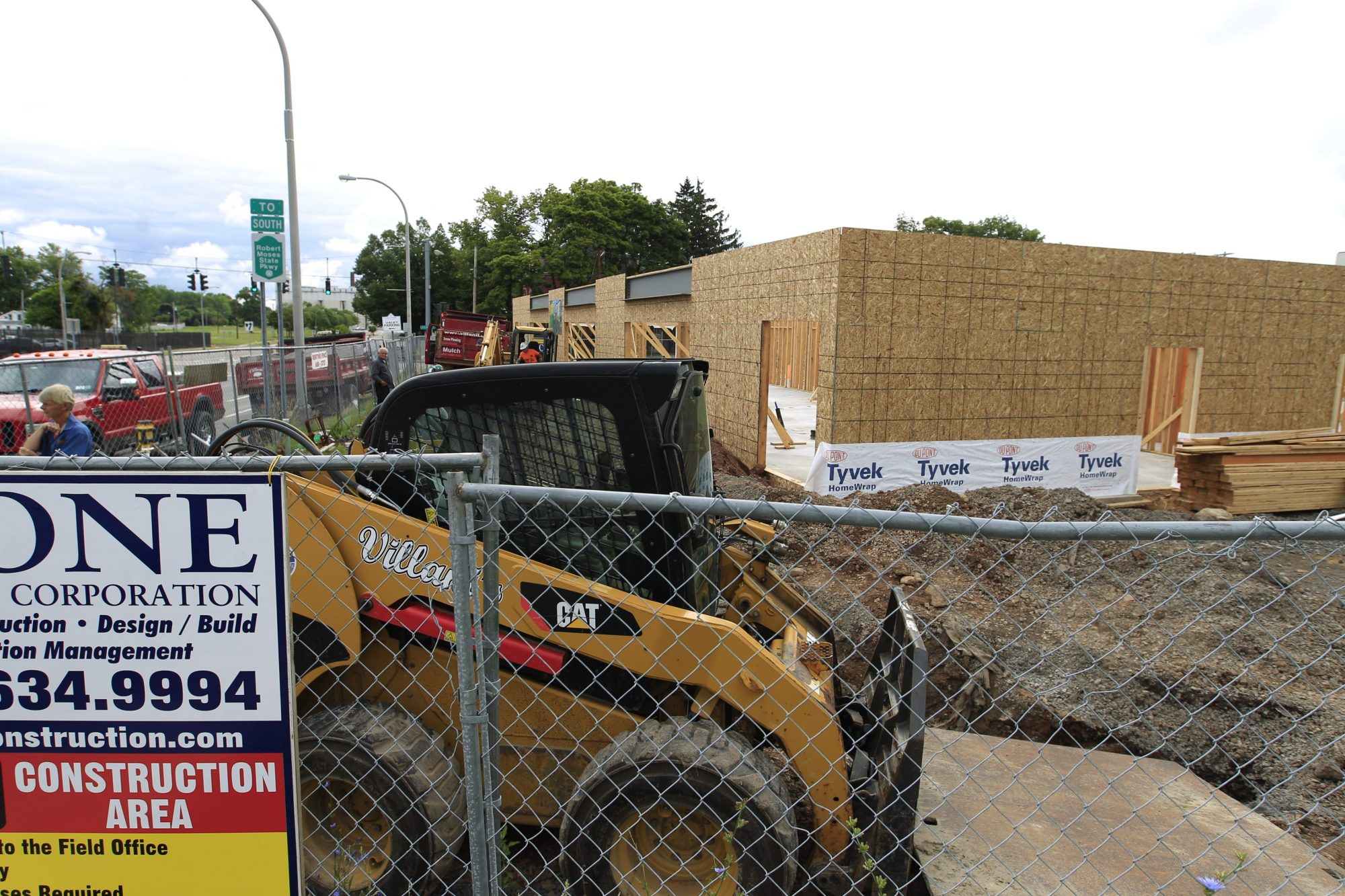 The construction of  Wingate by Wyndham hotel at 333 Rainbow Blvd. on Tuesday, July 29, 2014. The new hotel will be nearby. (John Hickey/Buffalo News file photo)