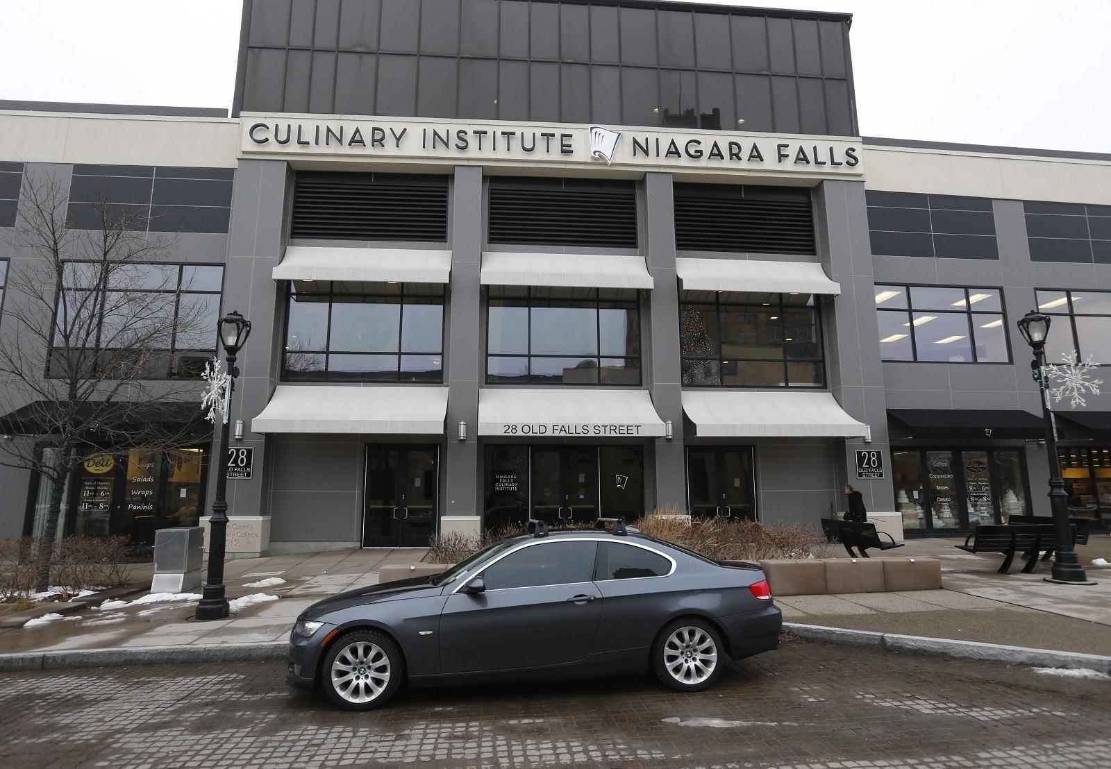 Niagara Falls Culinary Institute on Old Falls Street in Niagara Falls will host several Jingle Falls USA events. (Robert Kirkham/News file photo)