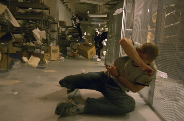 "Jonny Weston plays David Raskin, a science whiz high school senior, in the time-travel movie ""Project Almanac."""
