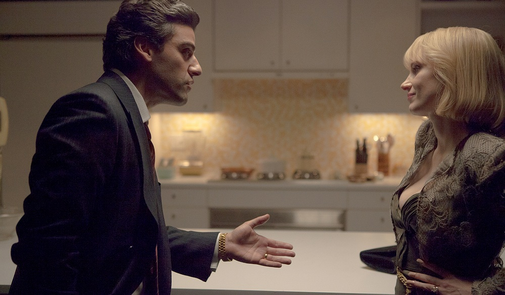 "Oscar Isaac and Jessica Chastain star in ""A Most Violent Year."""