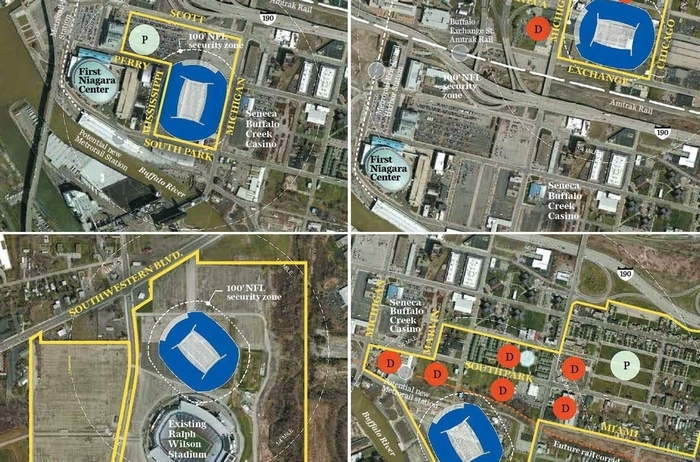 State study focuses on three Buffalo sites for Bills stadium, as ...