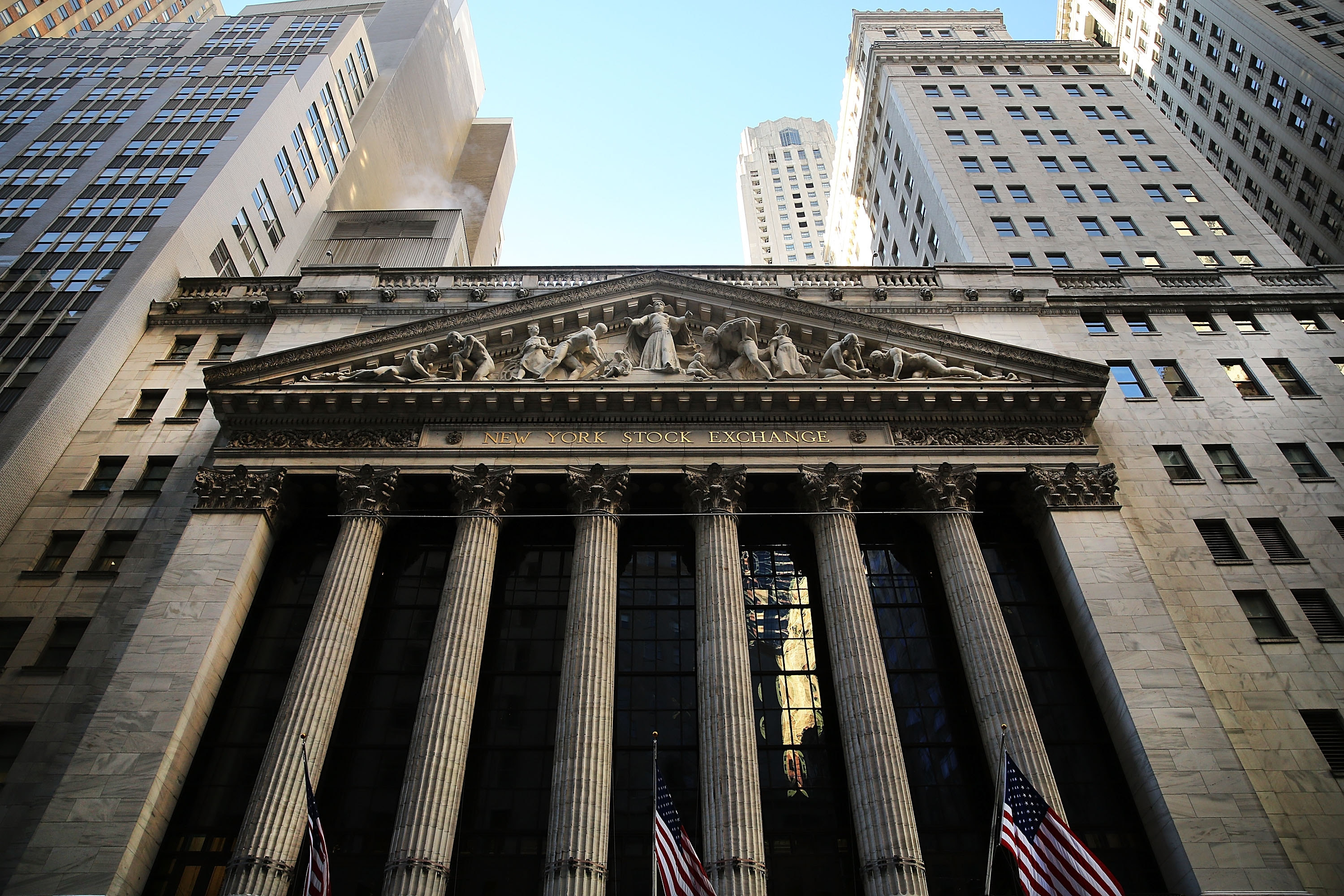 At New York Stock Exchange on Thursday, the Dow Jones industrial average rose 225.48 points, or 1.3 percent, to 17,416.85, after having fallen 2.8 percent in the previous two days. The S&P 500 climbed by 1 percent, to 2,021.25, reversing a drop of 0.7 percent. That index is down by 1.8 percent for January.