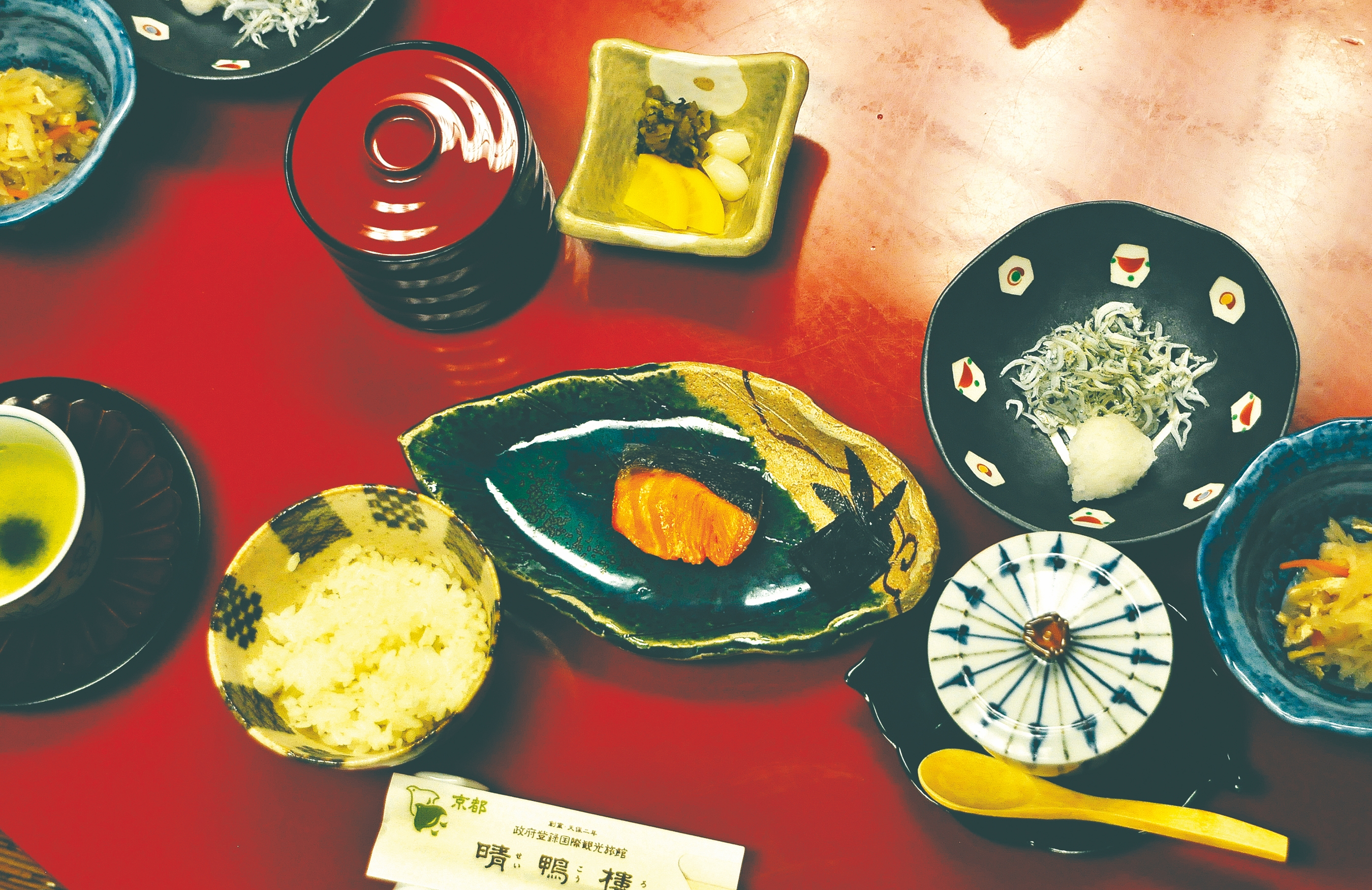 A beautifully presented traditional Japanese breakfast. Illustrates JAPAN-RYOKAN (category t), by Paula Shoyer, special to The Washington Post. Moved Tuesday, Jan. 27, 2015. (MUST CREDIT: Paula Shoyer.)