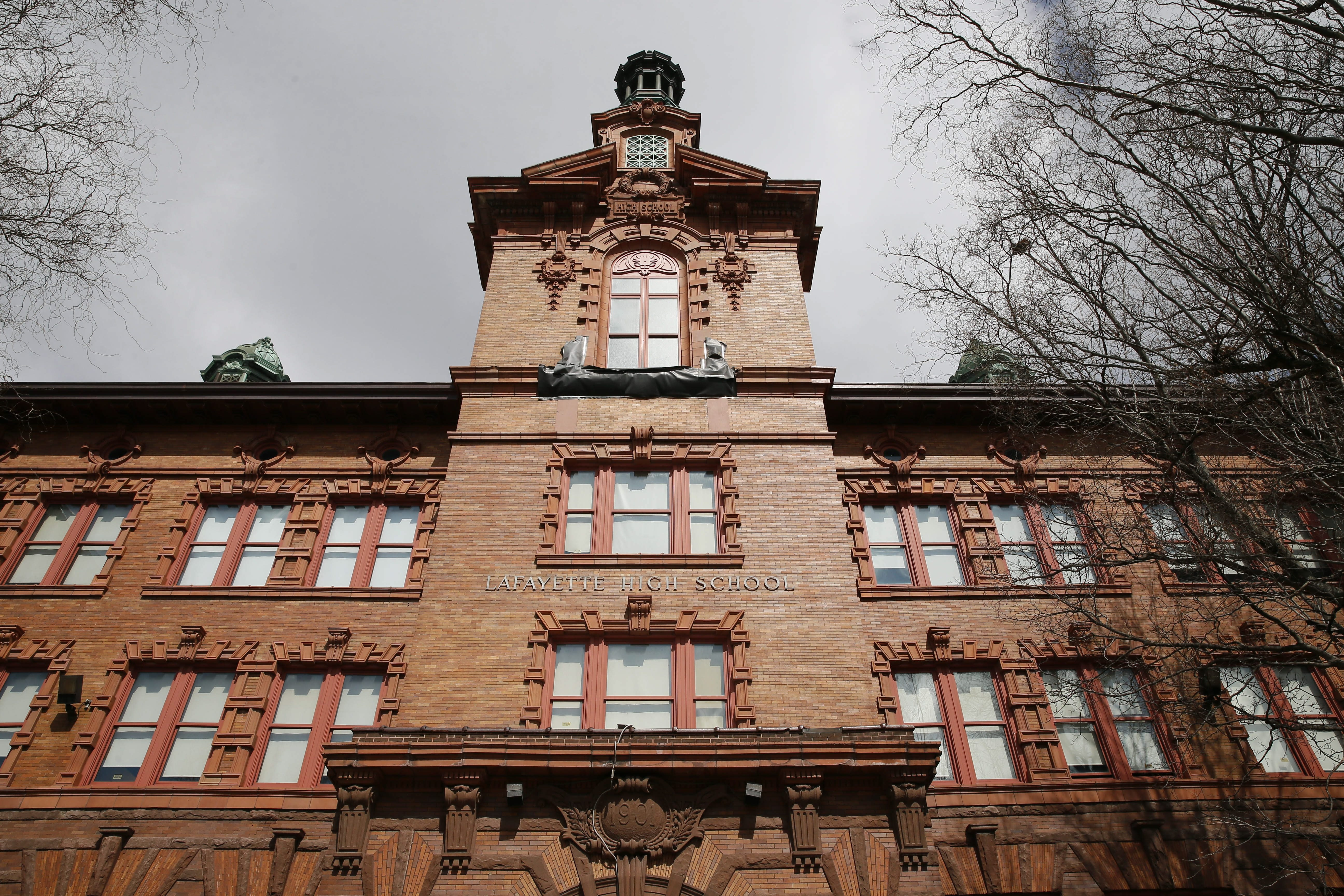 Citing poor student performance, the state has demanded that the Buffalo schools come up with plans to transform Lafayette (pictured), East and Bennett high schools, as well as at Martin Luther King Multicultural Institute, an elementary school. (Derek Gee/Buffalo News)