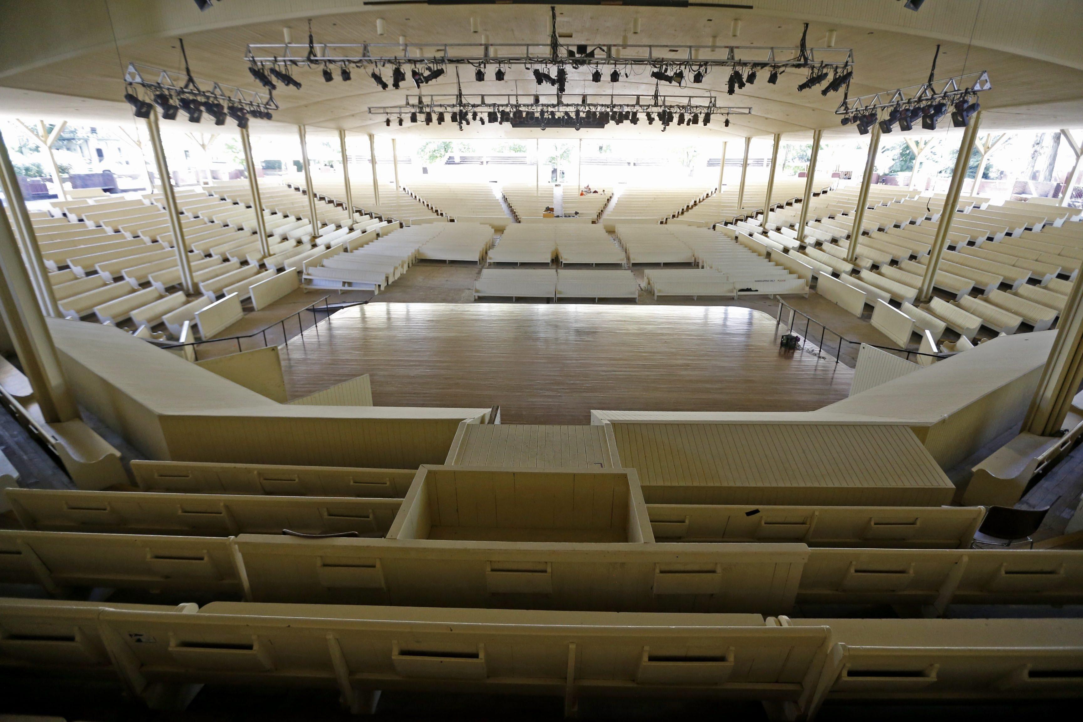 The Chautauqua Institution Amphitheater.  (Robert Kirkham/Buffalo News file photo)