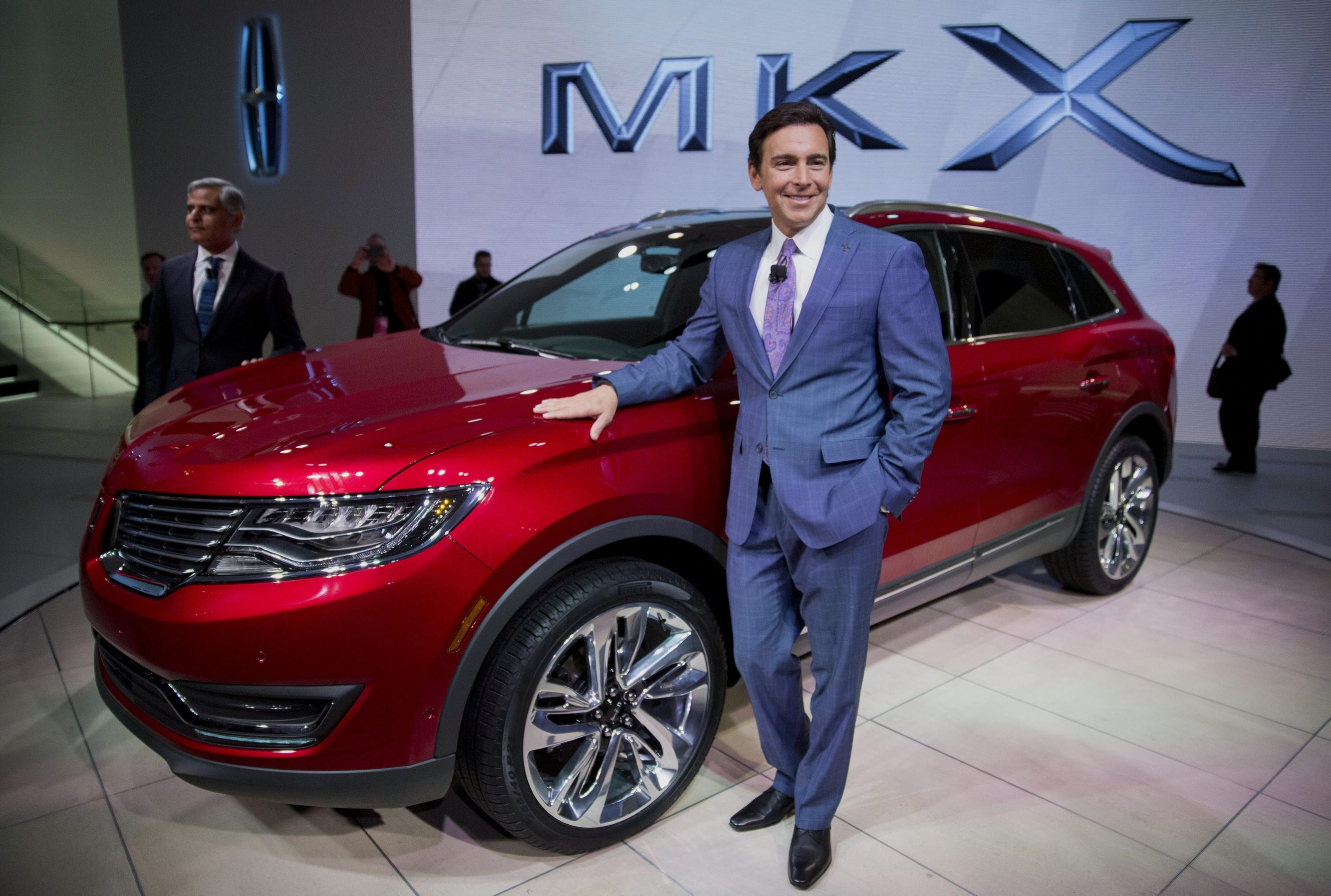 """Ford President and CEO Mark Fields cites investments and new products as """"positioning us for strong growth."""""""