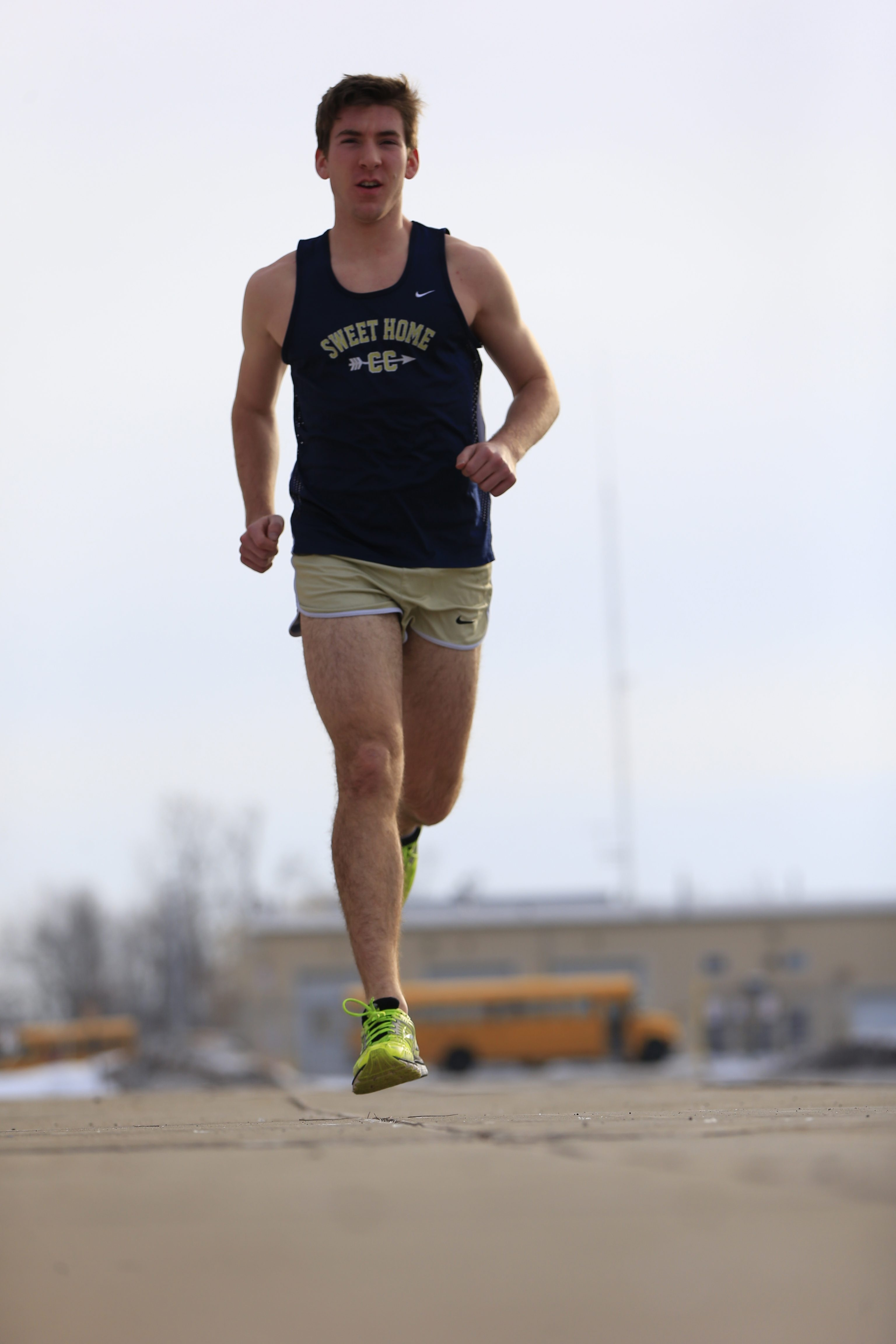 Mitch Daddario of Sweet Home has become the premier distance runner in Section VI.