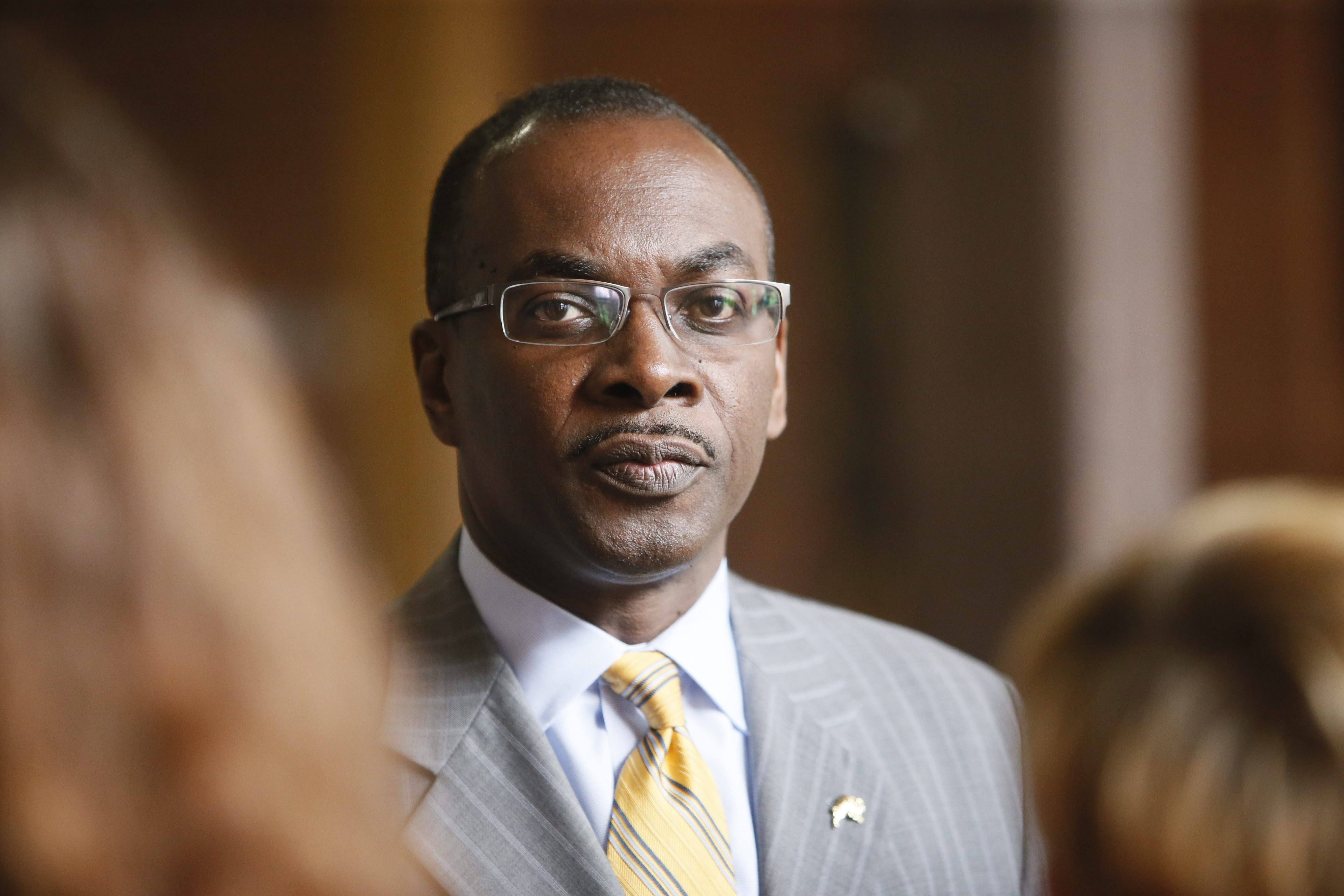 Buffalo Mayor Byron Brown is not running for reelection this year, but his campaign fund spent more in the last 12 months than his primary and general election opponents combined in the last mayoral race.  (Derek Gee/Buffalo News file photo)