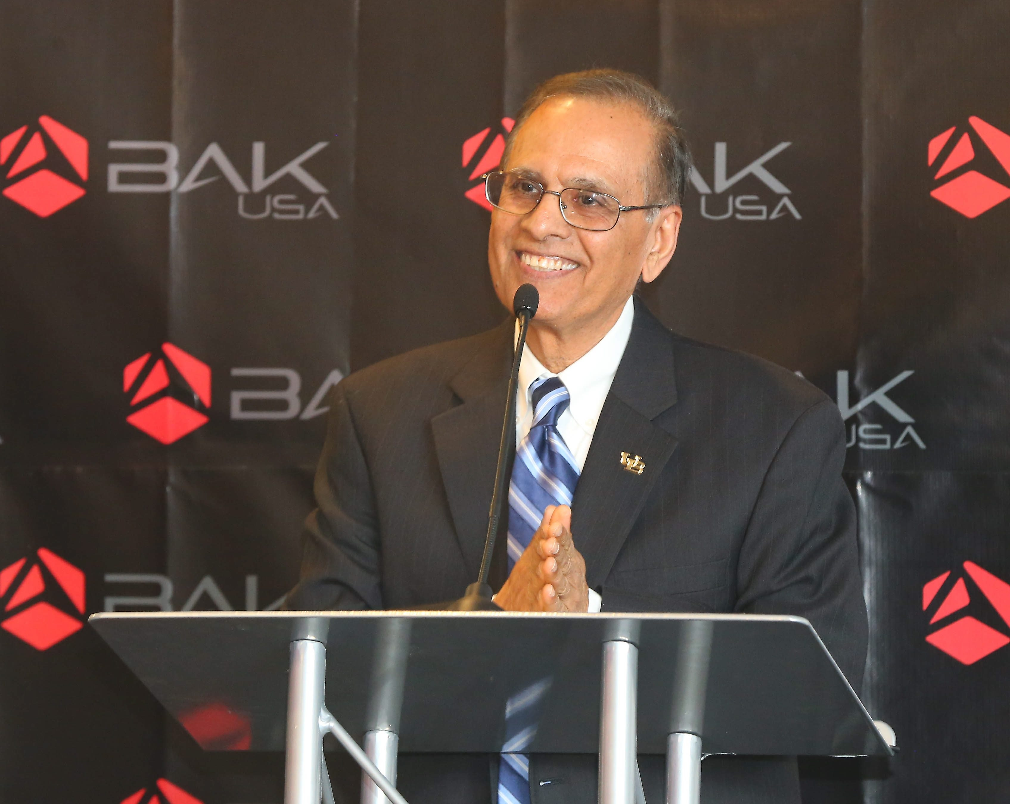 """""""Over the past 10 years, I'm happy to say our graduation rates have been steadily improving as a result of these efforts."""" – UB President Satish K. Tripathi"""