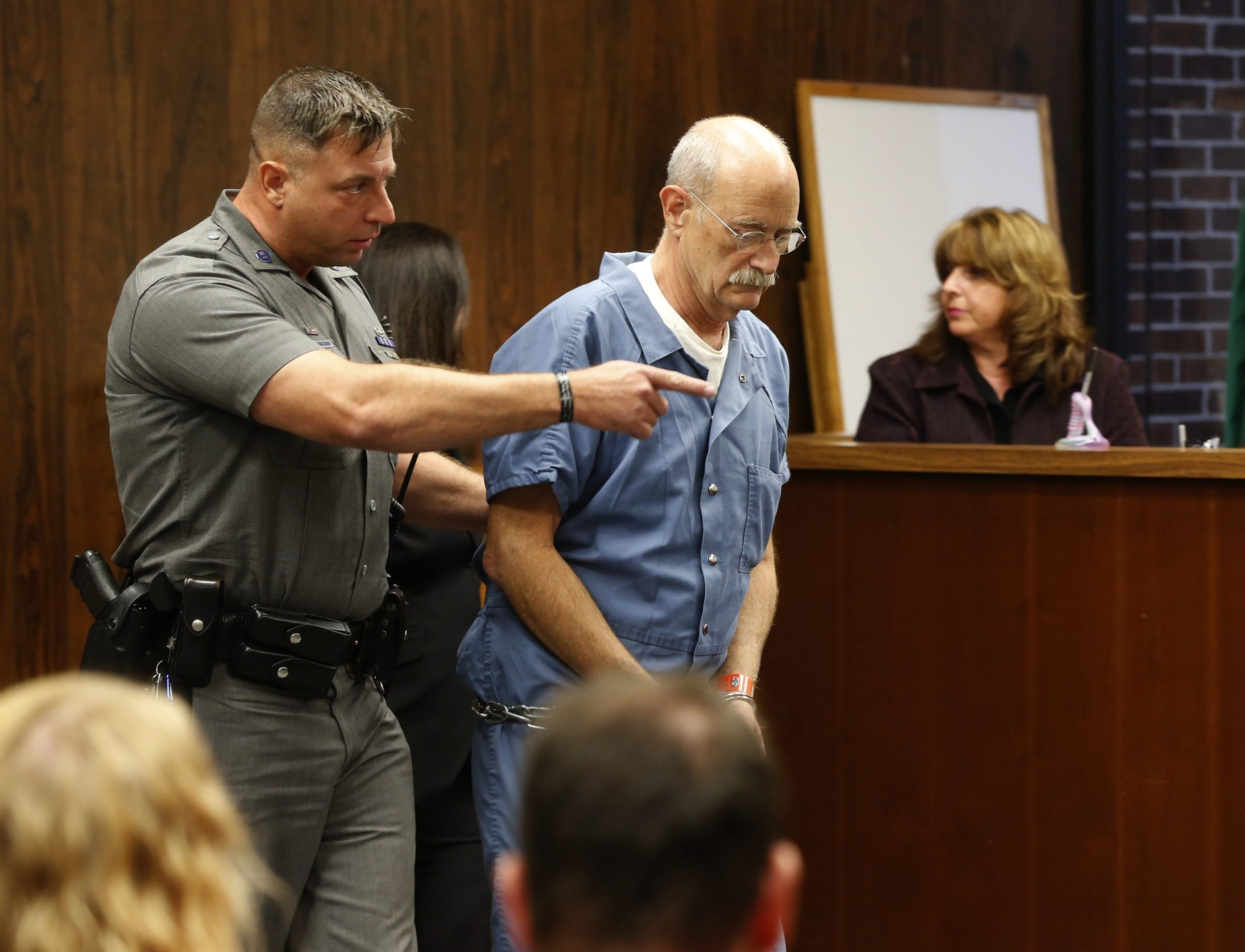 Iver Jay Phallen is set to go on trial in September. (Robert Kirkham/Buffalo News file photo)