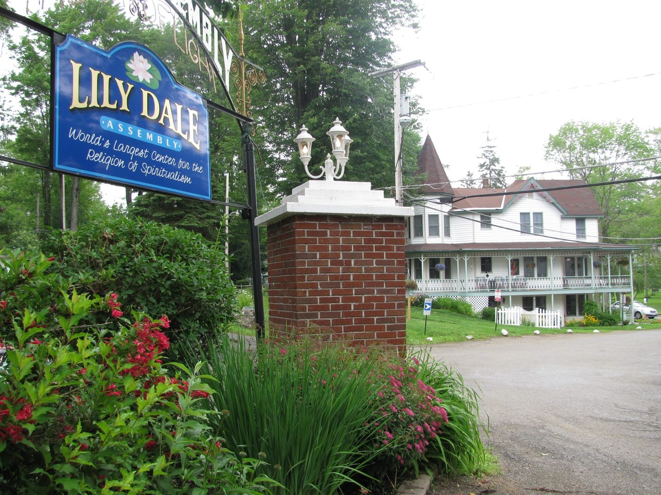 Lily Dale in Cassadaga, N.Y., not to be confused with the community of the same name with similar roots in Florida.