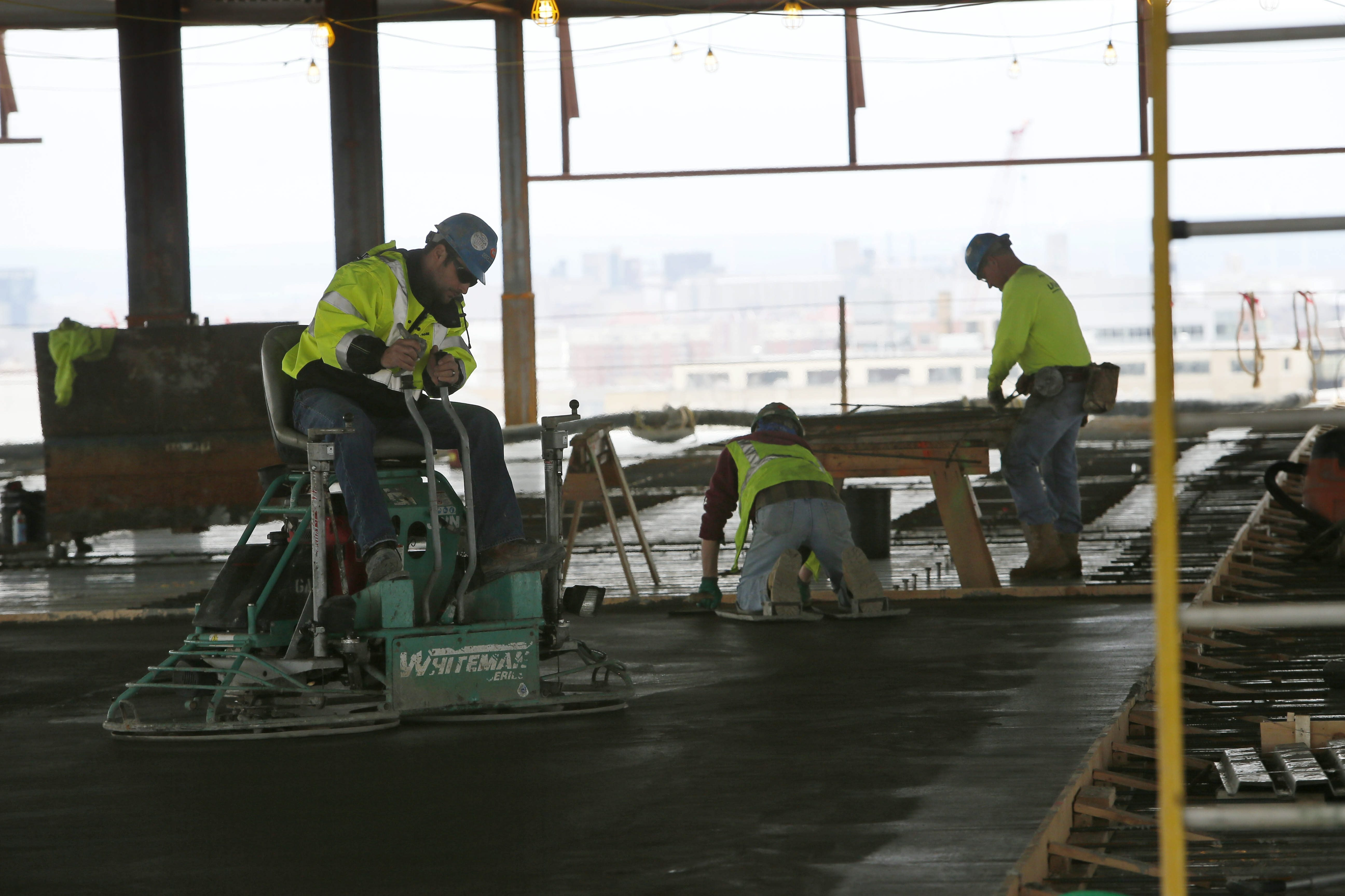 The Buffalo Niagara Medical Campus has continued to be a hotbed of regional construction, as that job sector, along with finan- cial services and health care, has helped brighten the local employment picture. December's uptick was the best in four months.