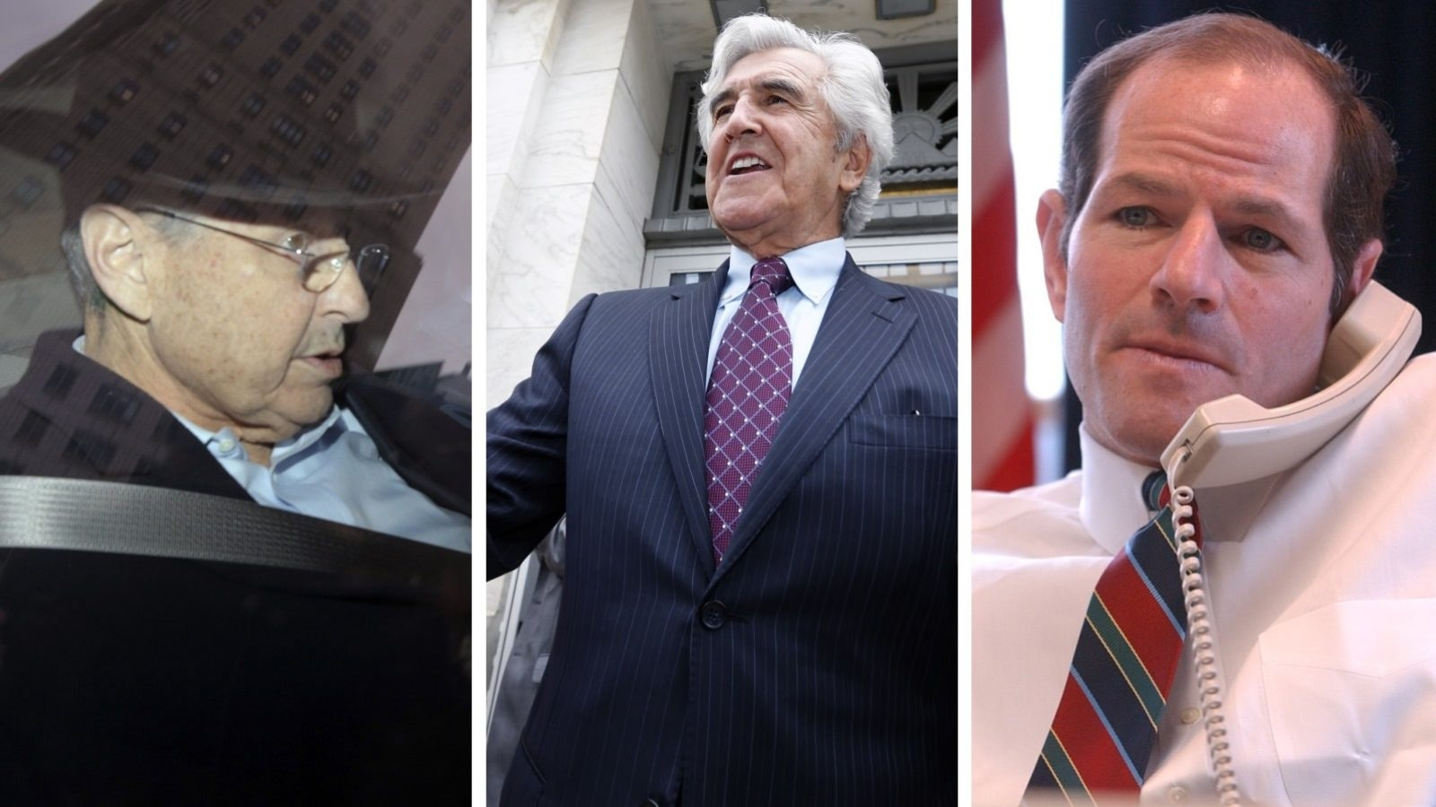 Hit by scandal have been, from left, Sheldon Silver, Joseph L. Bruno and Eliot L. Spitzer.