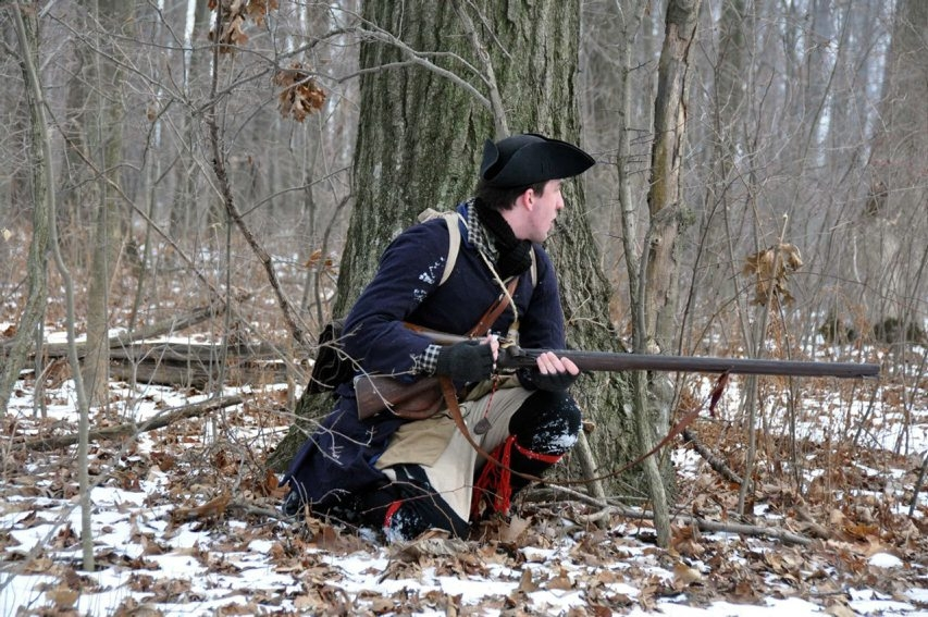 A re-enactment of a 1750s skirmish will take place Feb. 7.