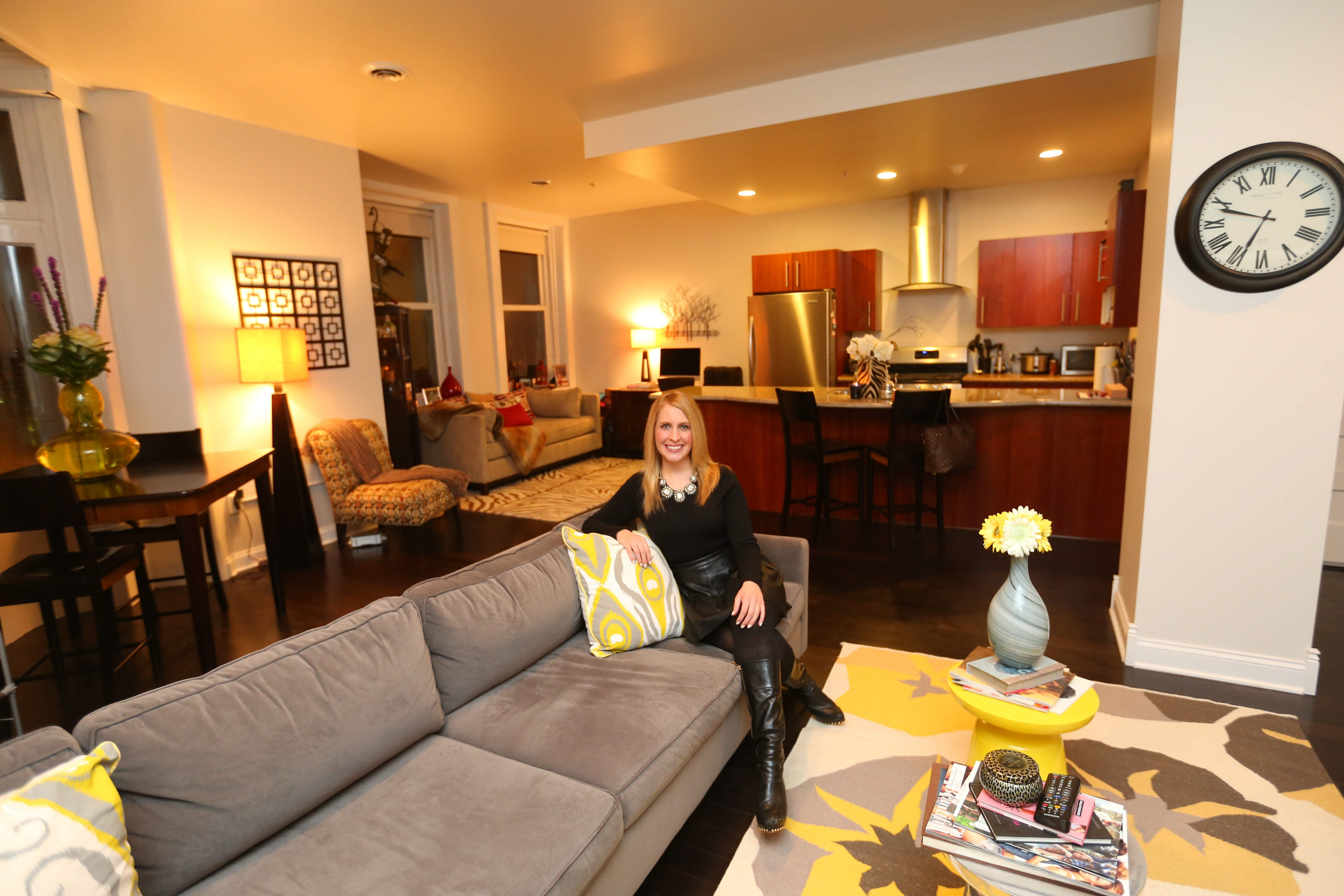 Katherine Hoernig is enjoying life at Apts. at the Lafayette. She previously lived in the Sidway Apartments on Main Street and the Webb Lofts on Pearl Street.