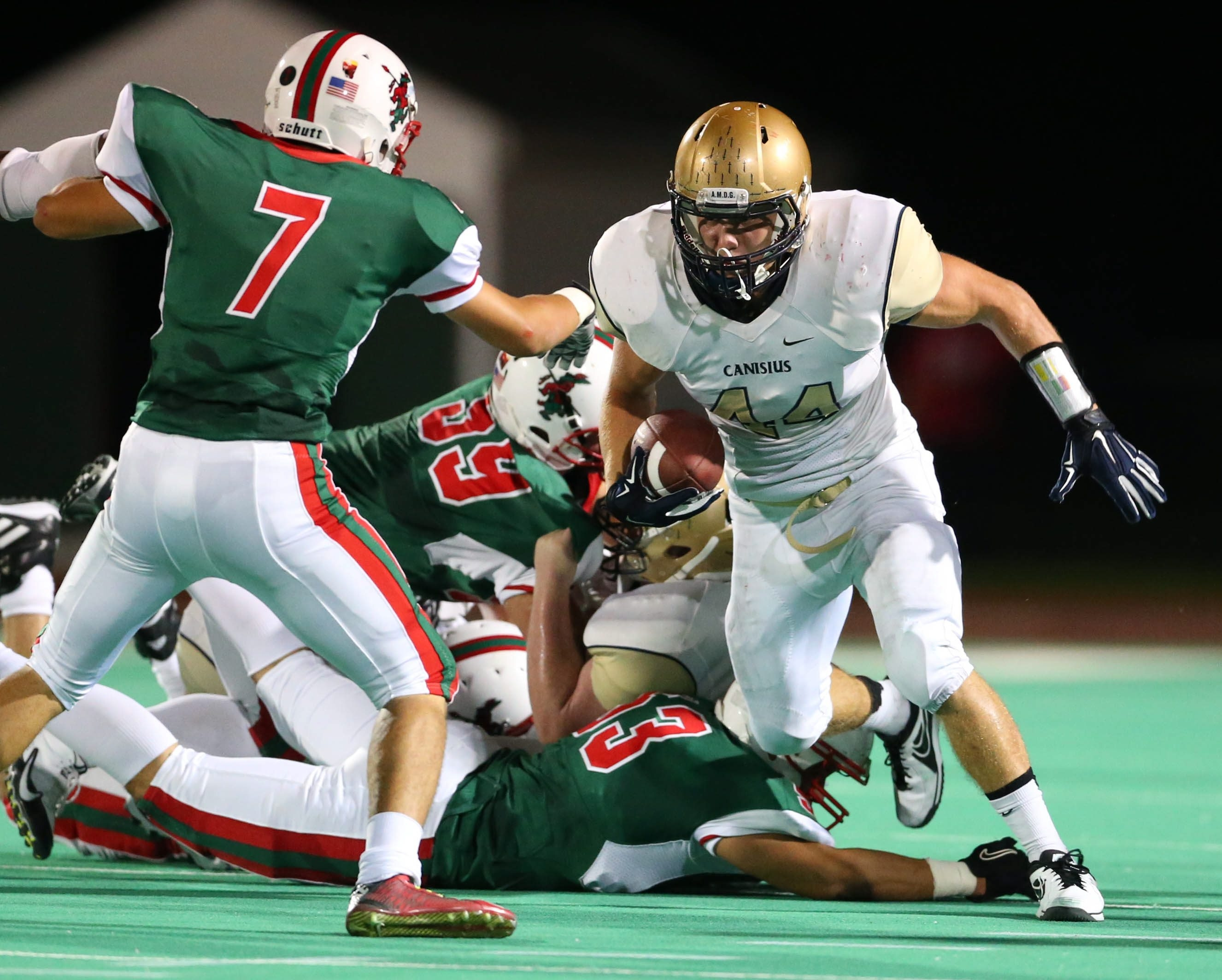 Brad Zaffram led the Canisius Crusaders with 91 tackles while playing just nine games.