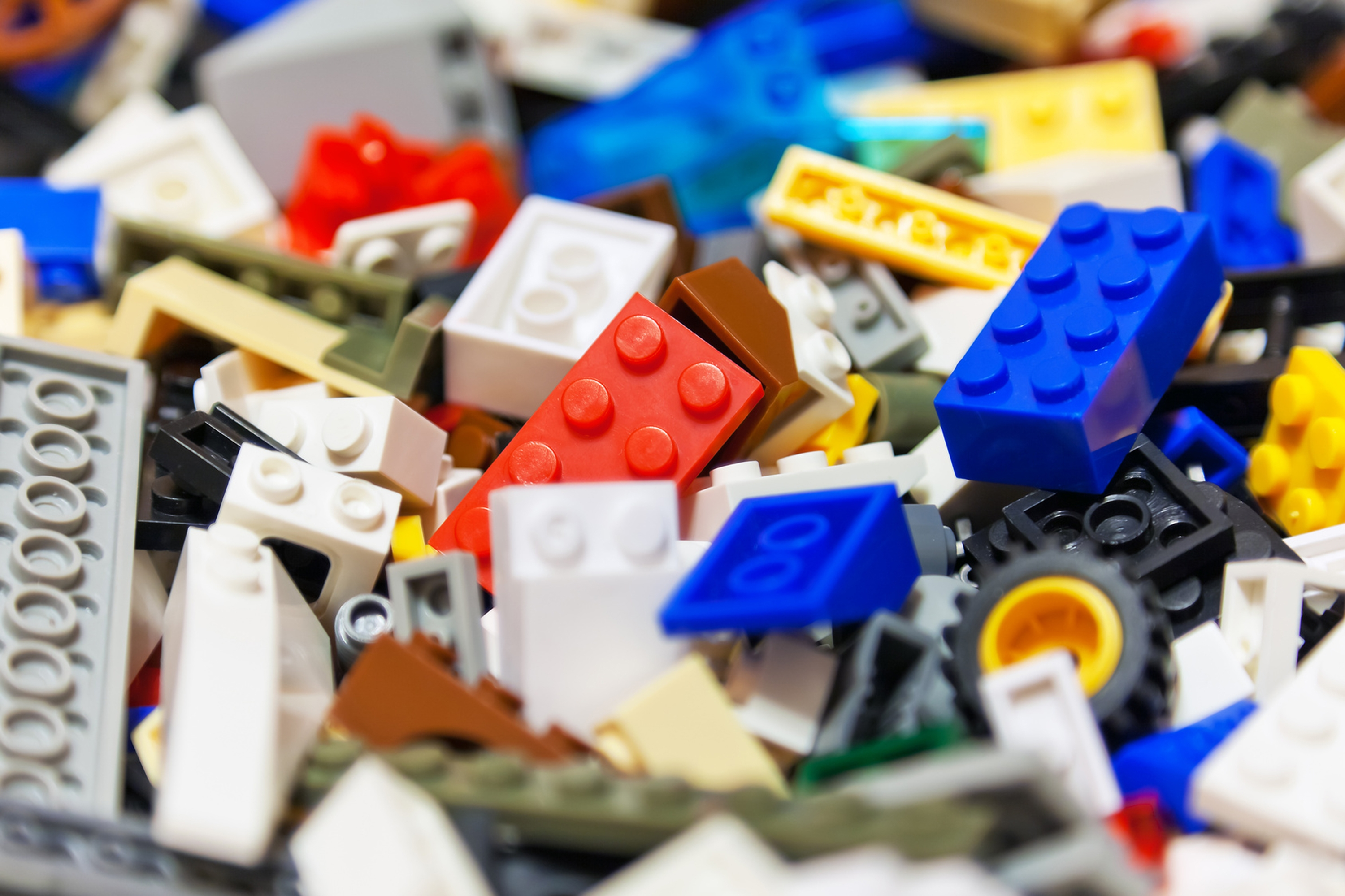 Washing your kids' Legos is one tip for keeping things cleaner around the house. Here's how: Put the pieces in a mesh laundry bag, zip it closed and toss into the washing machine full of hot water and a bit of soap. When the cycle is over, let the Legos dry on a towel. (Photo courtesy Fotolia/TNS)