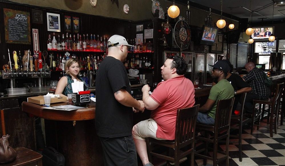 At Duke's Bohemian Grove Bar in Allentown, Happy Hour runs from 4 to 7 p.m. Monday through Friday. (Sharon Cantillon/Buffalo News file photo)