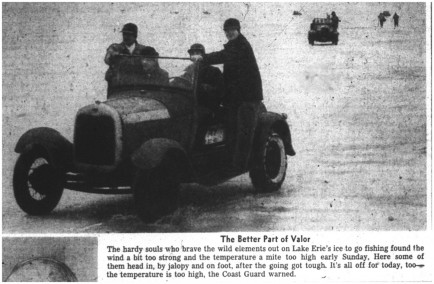 06 mar 1950 ice fishing in jalopy