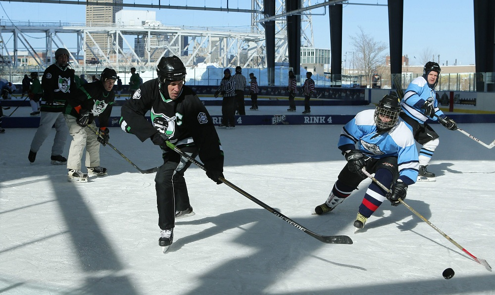 Twin rinks at Buffalo RiverWorks host a variety of events, as well as public skating. (Derek Gee/ News file photo)