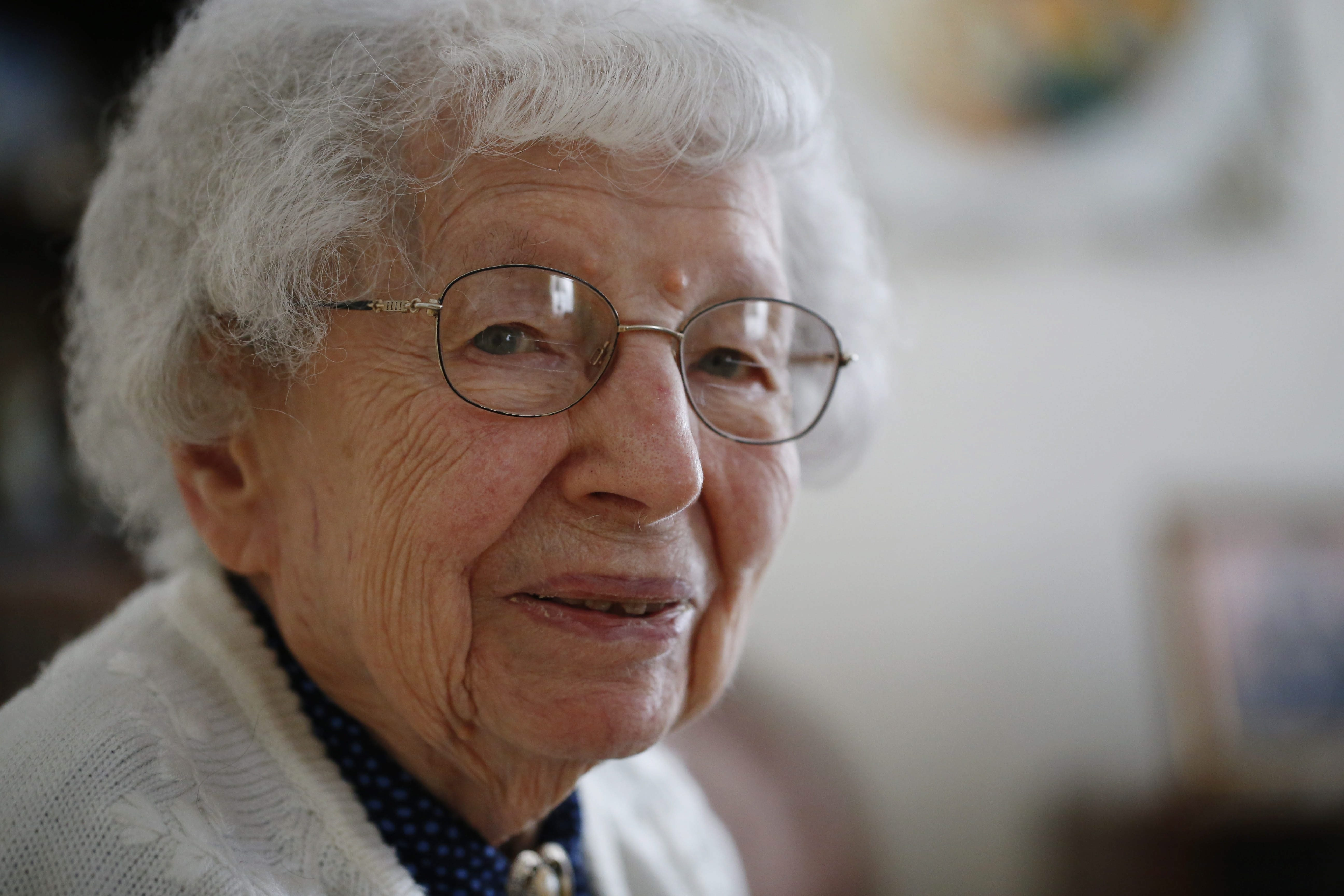 Helen Allen, who turns 107 this month, talks about her life at her North Tonawanda home.