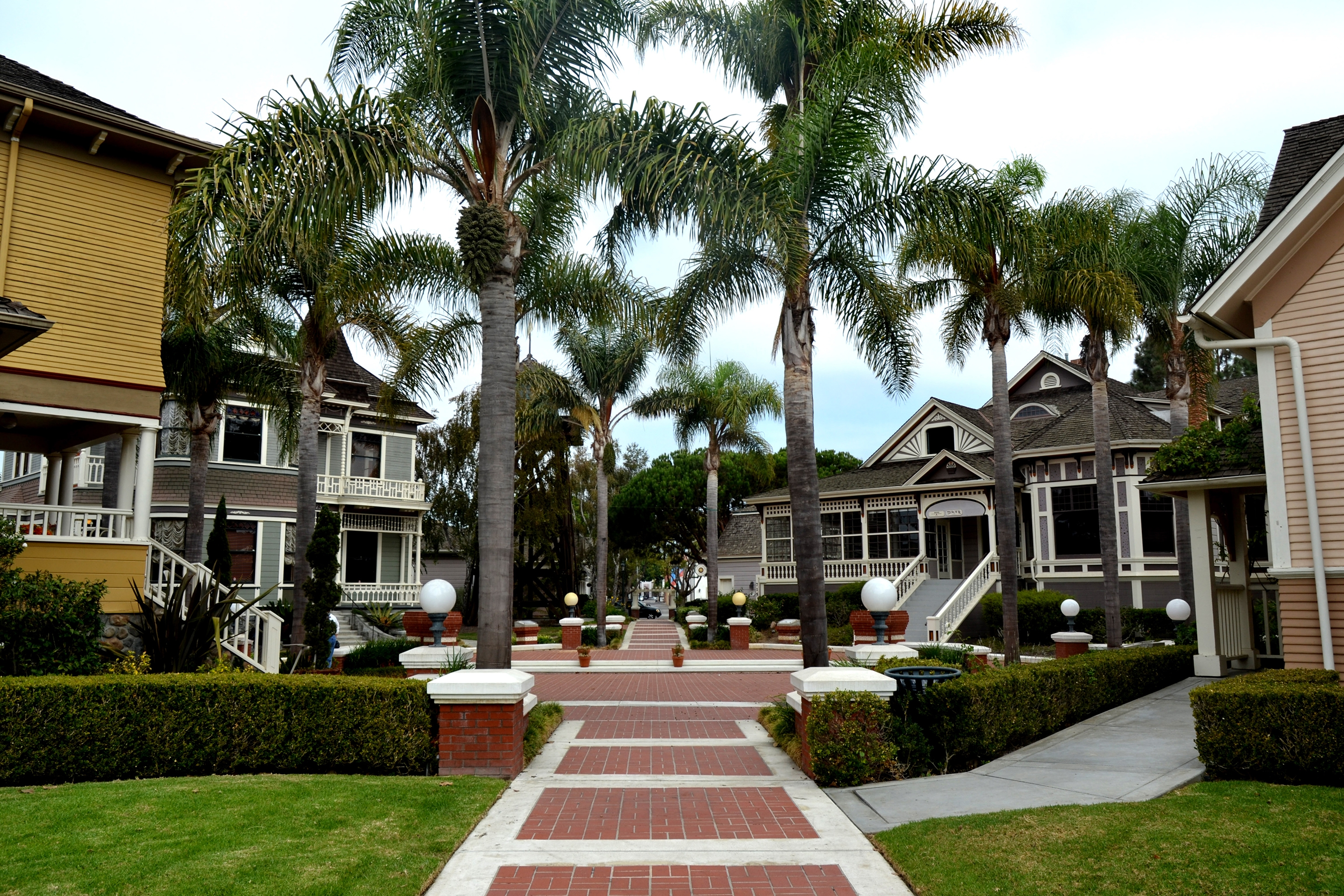 Fifteen historic structures have been relocated to Heritage Sqaure in downtown Oxnard, Calif. Most of them are historic farmhouses.