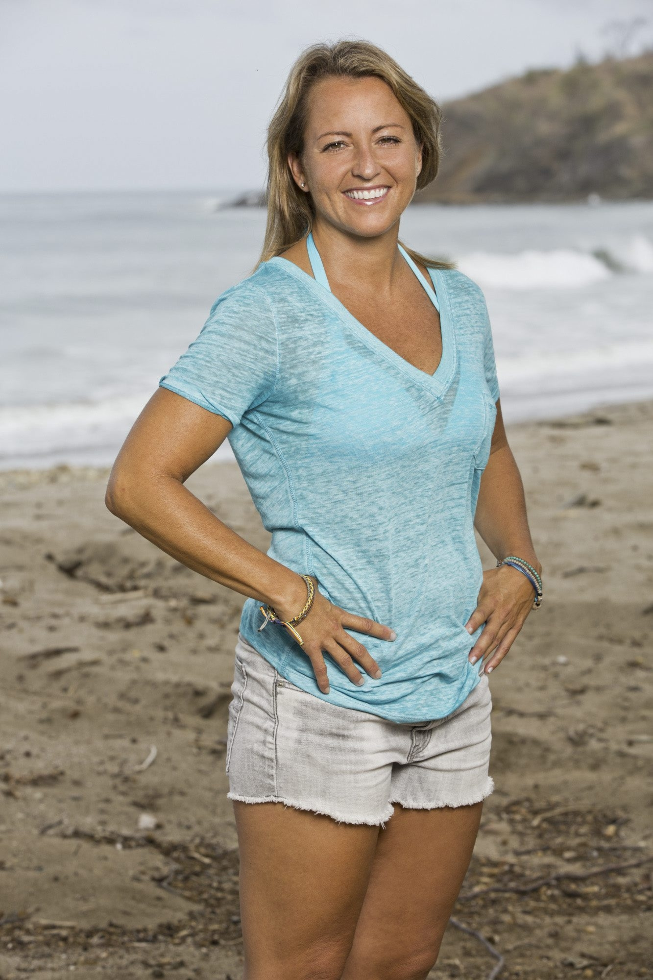 "Kelly Remington of Grand Island is one of the 18 castaways competing on the CBS television series ""Survivor."""