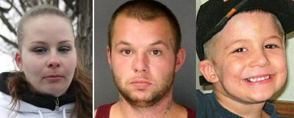 Nora Brooks' boyfriend, Matthew Kuzdzal, was sentenced to 50 years in prison after he was convicted of second-degree murder and predatory sexual conduct in the death of Brooks' five-year-old son, Eain.
