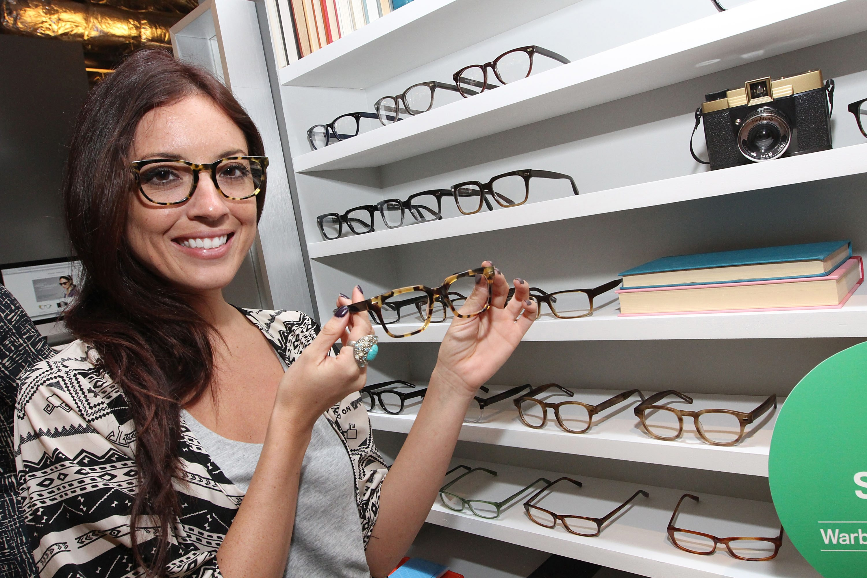 Retailers like Warby Parker also allow consumers to purchase glasses online.