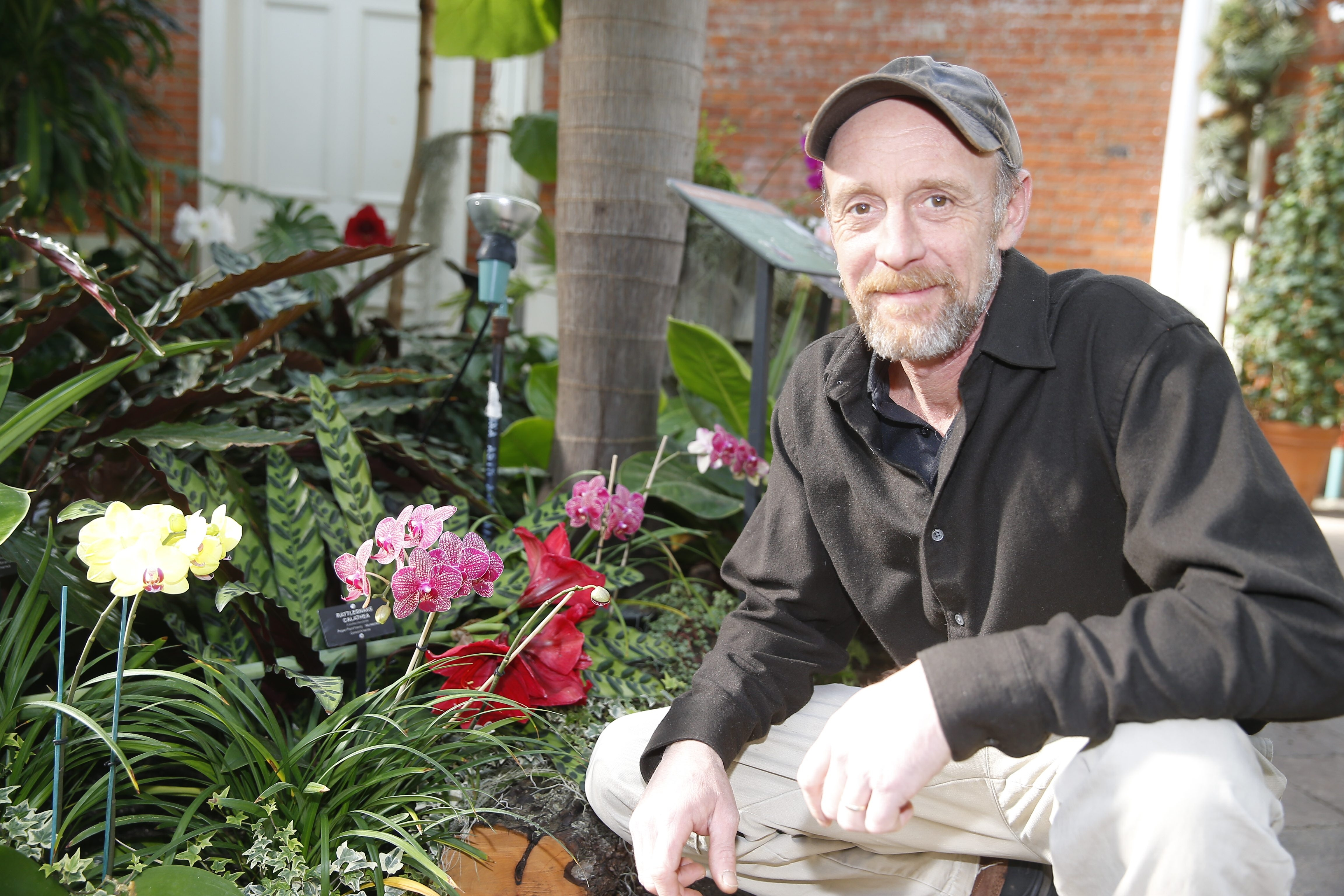 Jeff Thompson, Gardens' director of horticulture.