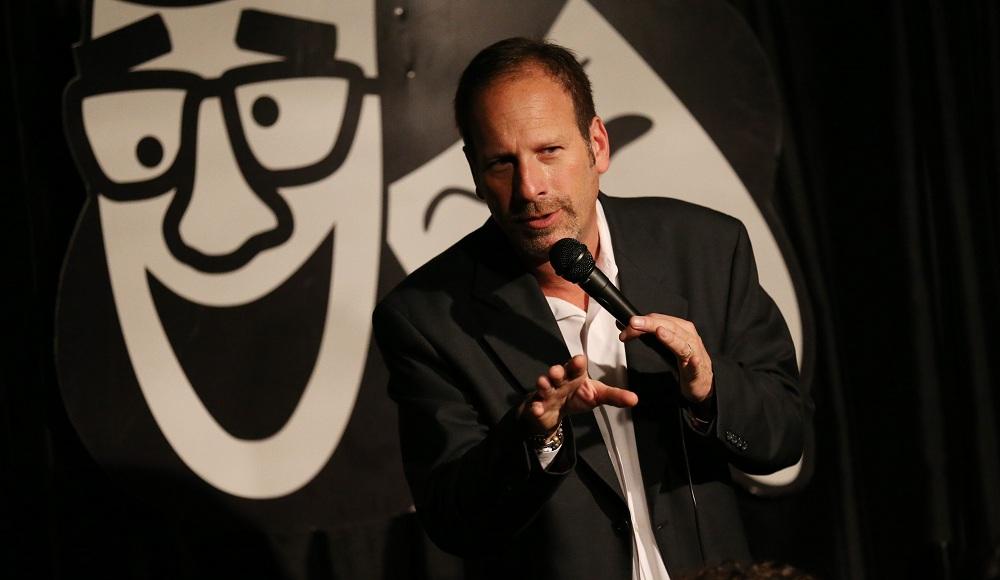 Rob Lederman performing at his Williamsville club, Rob's Comedy Playhouse. (Sharon Cantillon/Buffalo News file photo)